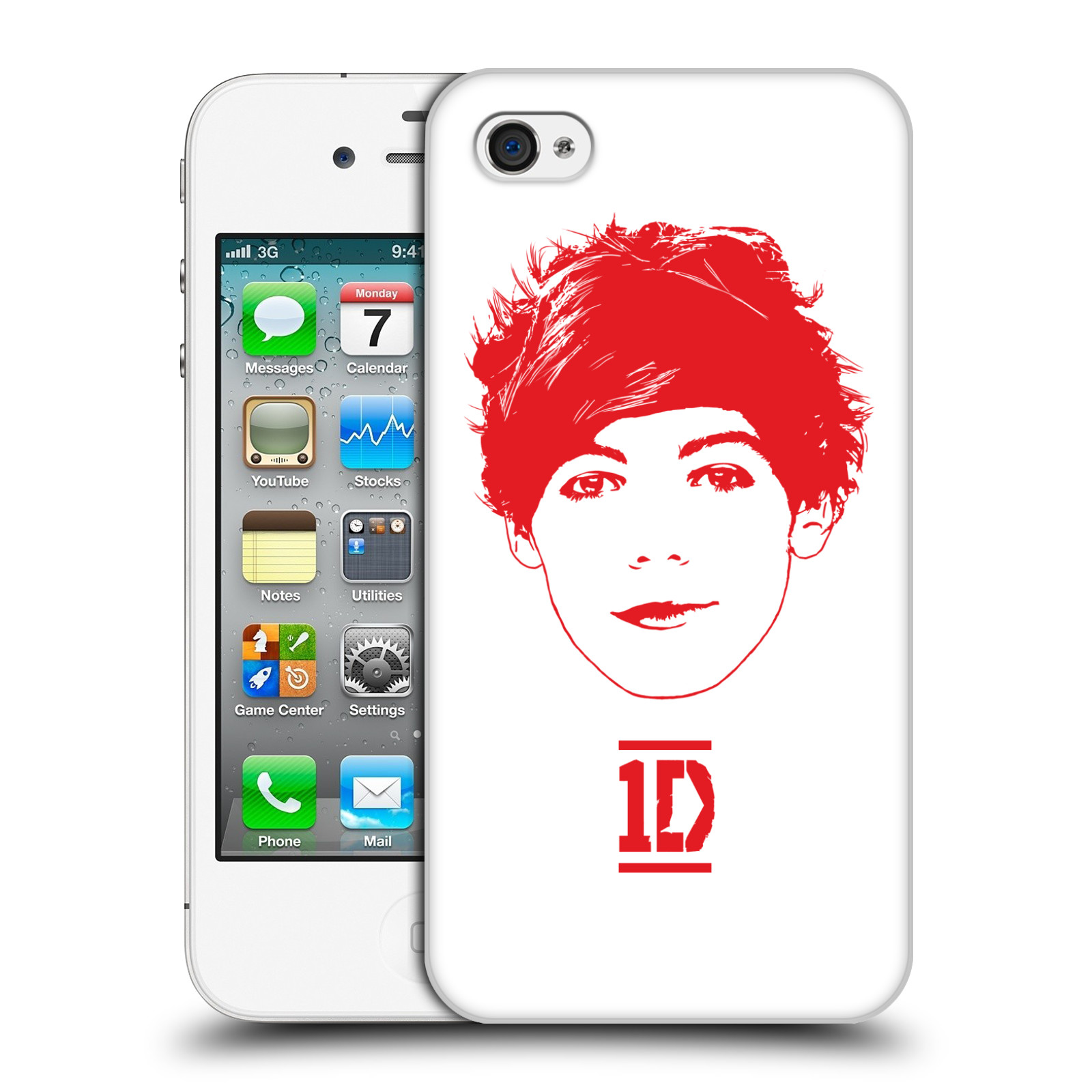 Ufficiale-One-Direction-1D-GRAPHIC-facce-HARD-BACK-CASE-per-APPLE-IPHONE-4S