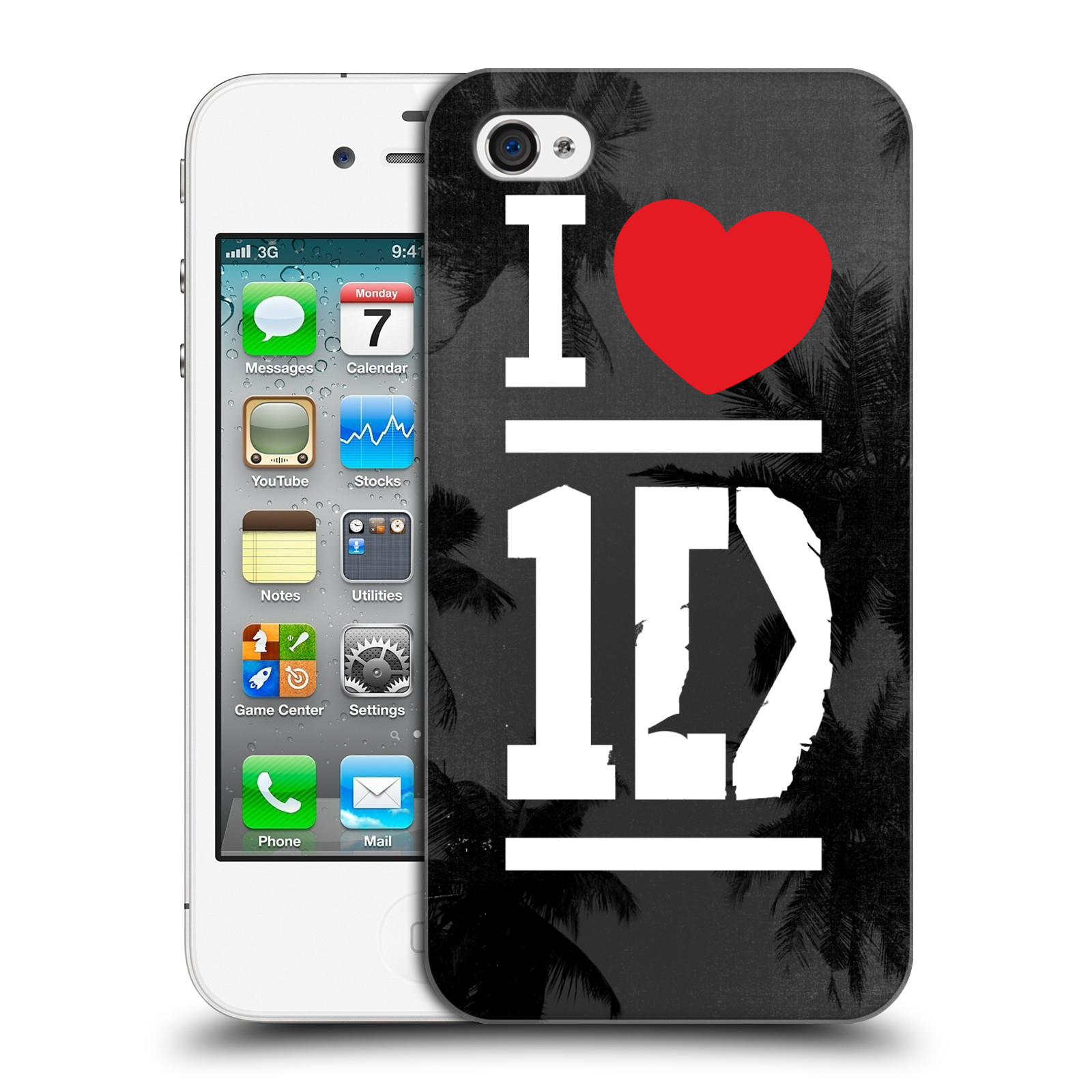 Ufficiale-One-Direction-I-Love-One-Direction-HARD-BACK-CASE-per-APPLE-IPHONE-4