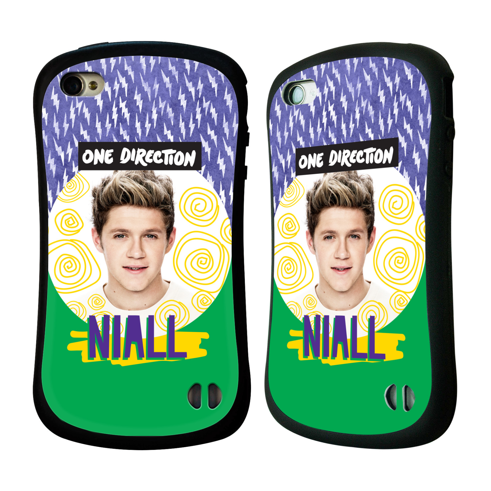 Ufficiale-One-Direction-1D-Locker-ARTE-Assolo-Custodia-ibrida-per-Apple-iPhone-4