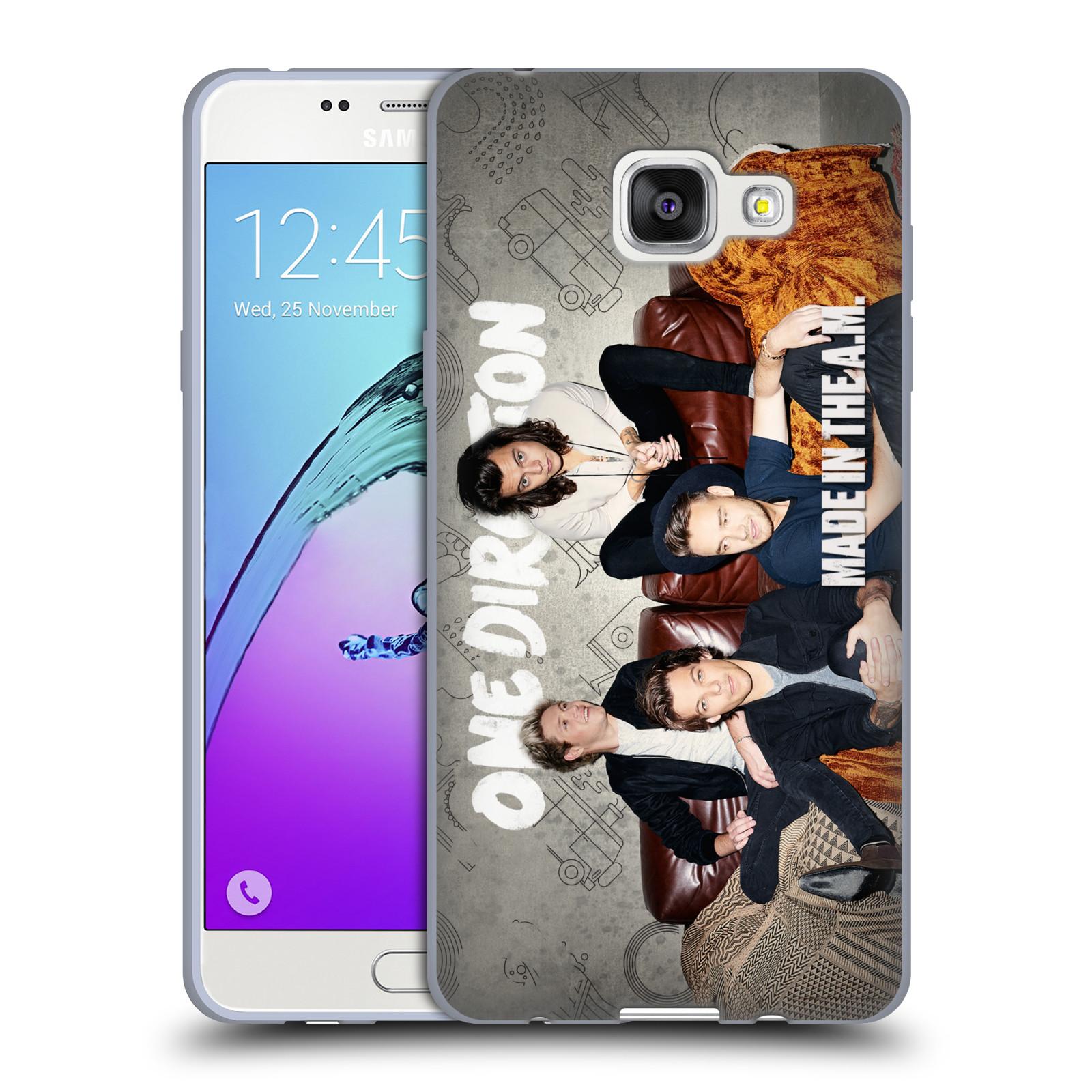HEAD CASE silikonový obal na mobil Samsung Galaxy A5 2016 (A510) chlapecká skupina One Direction gauč