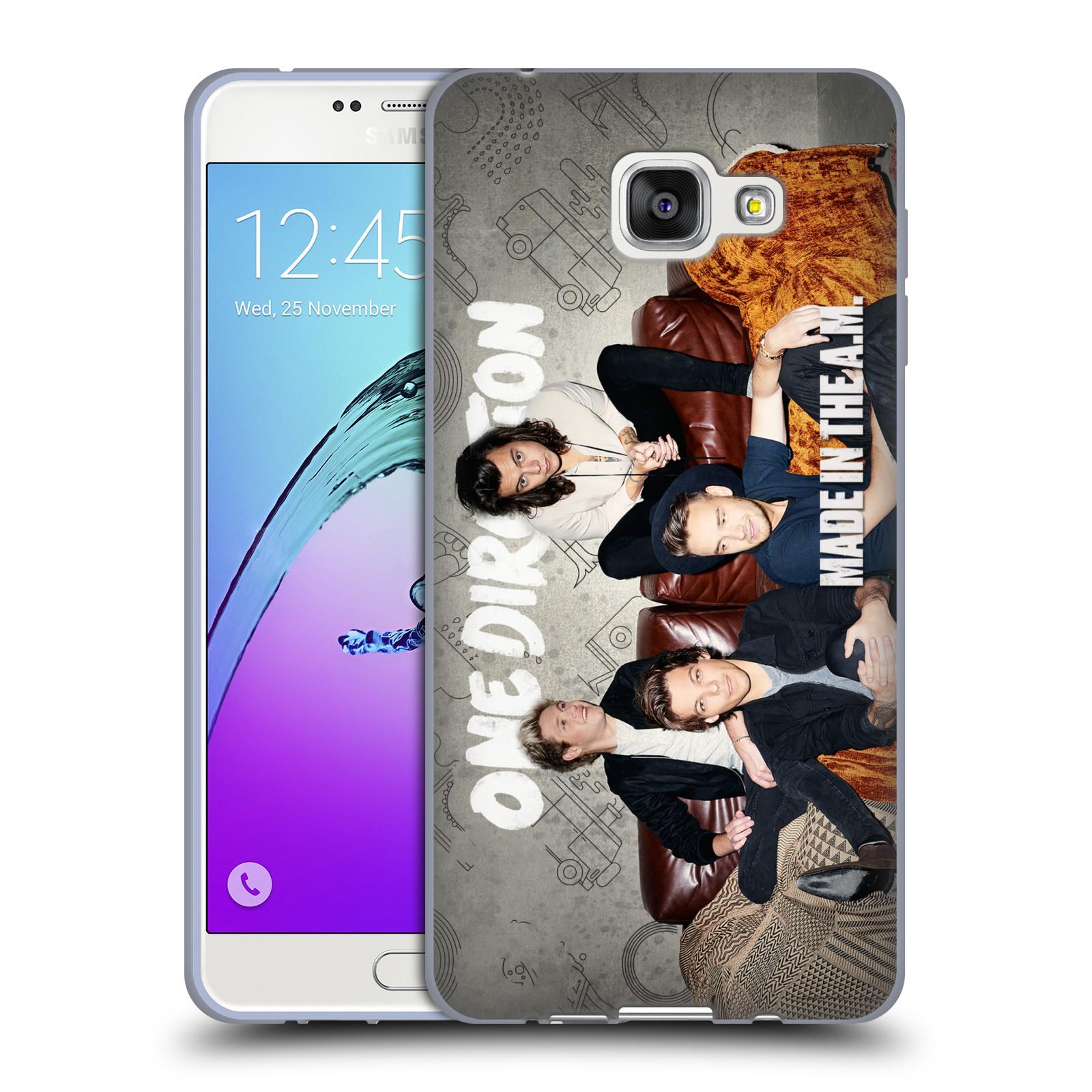 HEAD CASE silikonový obal na mobil Samsung Galaxy A7 2016 (A710) chlapecká skupina One Direction gauč