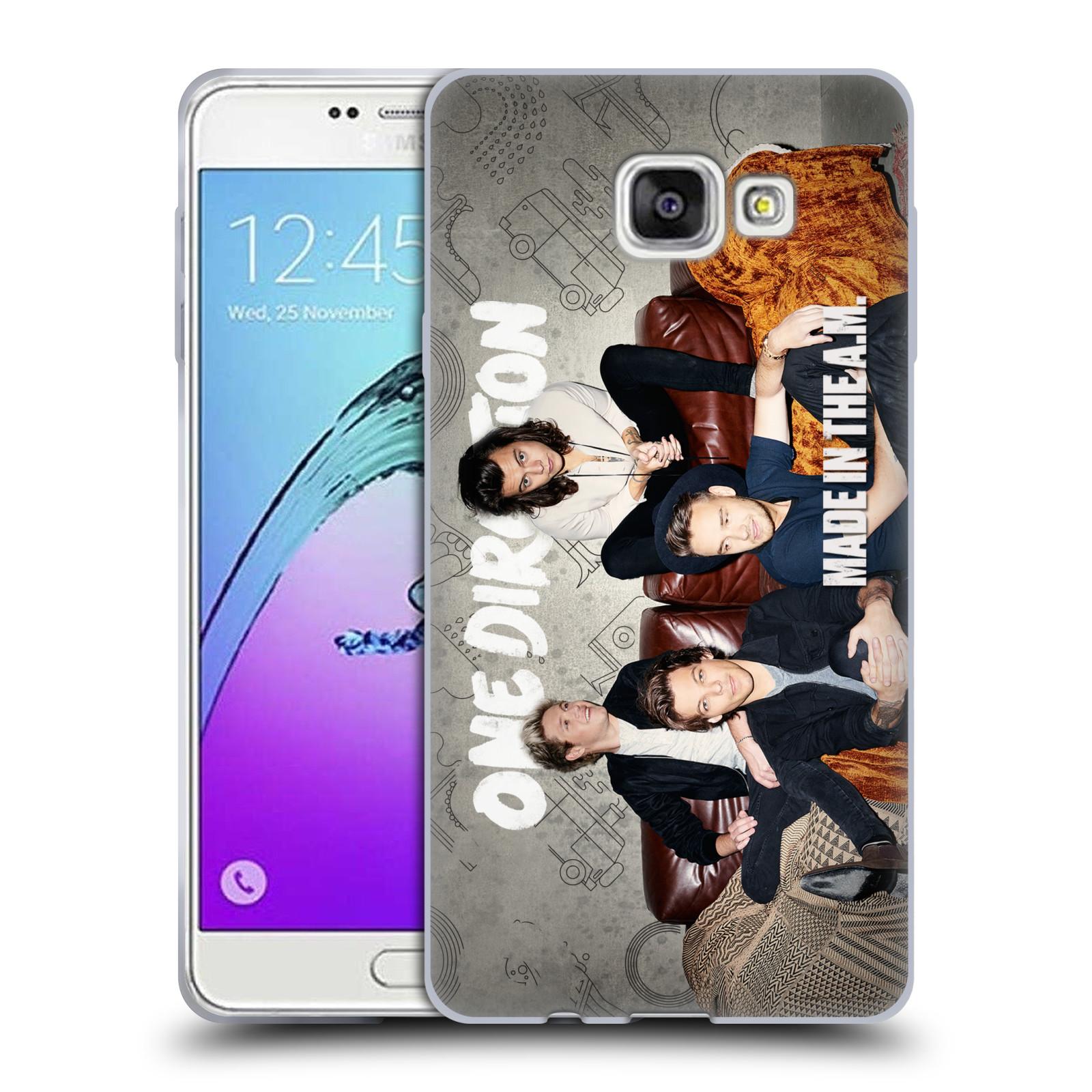 HEAD CASE silikonový obal na mobil Samsung Galaxy A7 2017 (A720) chlapecká skupina One Direction gauč