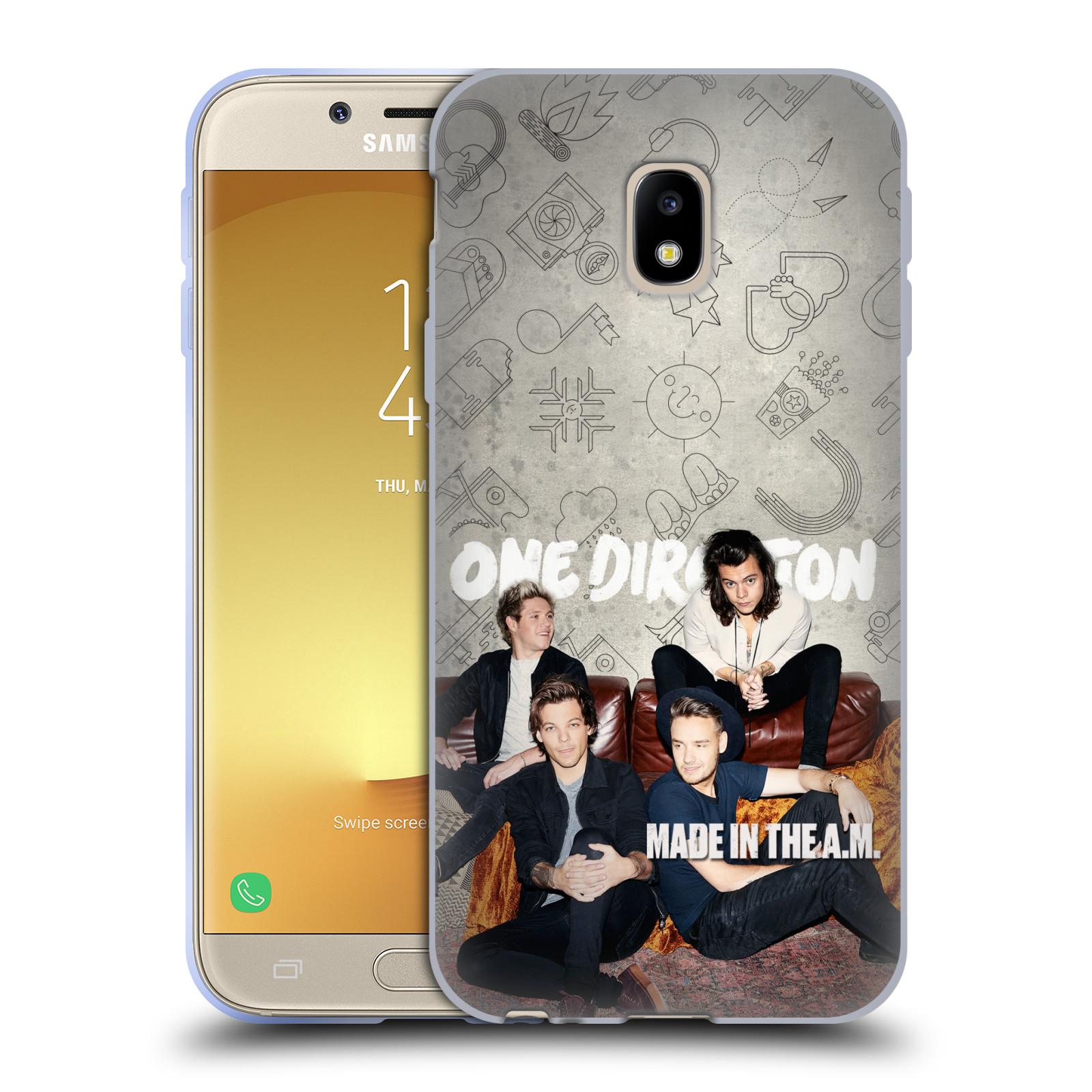 HEAD CASE silikonový obal na mobil Samsung Galaxy J3 2017 (J330, J330F) chlapecká skupina One Direction gauč