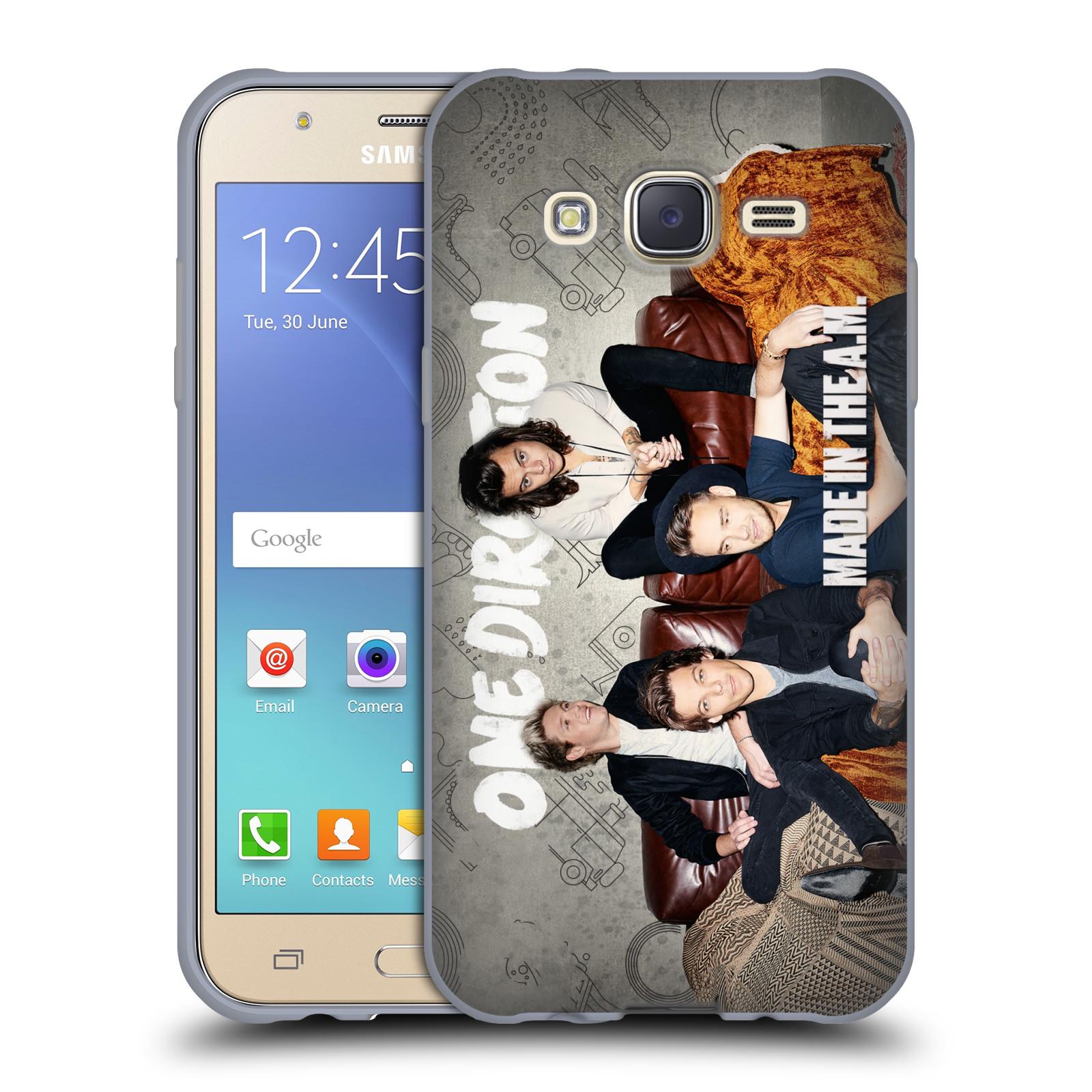 HEAD CASE silikonový obal na mobil Samsung Galaxy J5 2015 (J500) chlapecká skupina One Direction gauč