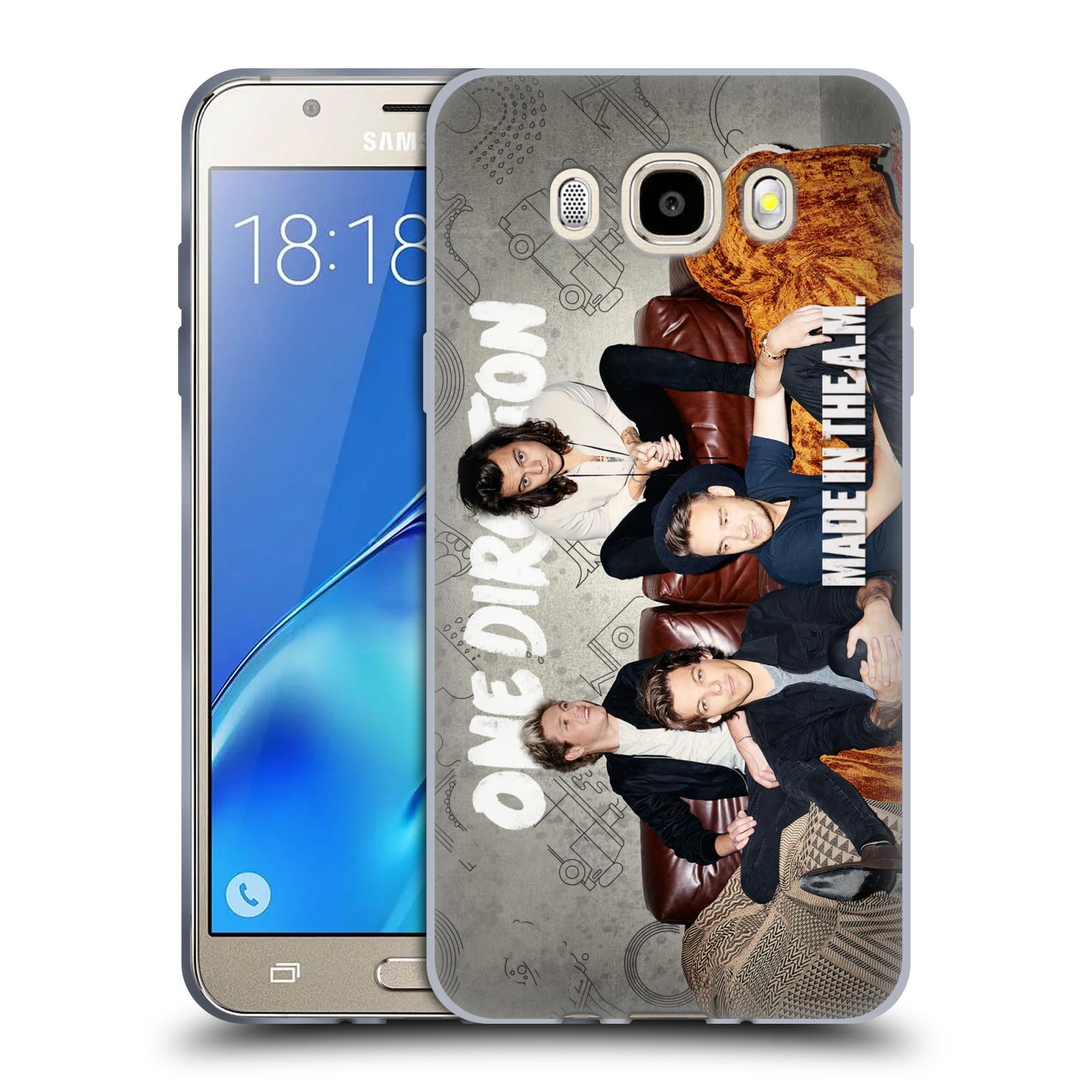 HEAD CASE silikonový obal na mobil Samsung Galaxy J5 2016 (J510) chlapecká skupina One Direction gauč