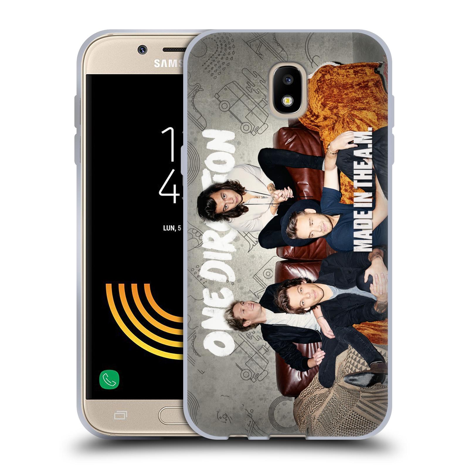 HEAD CASE silikonový obal na mobil Samsung Galaxy J5 2017 chlapecká skupina One Direction gauč