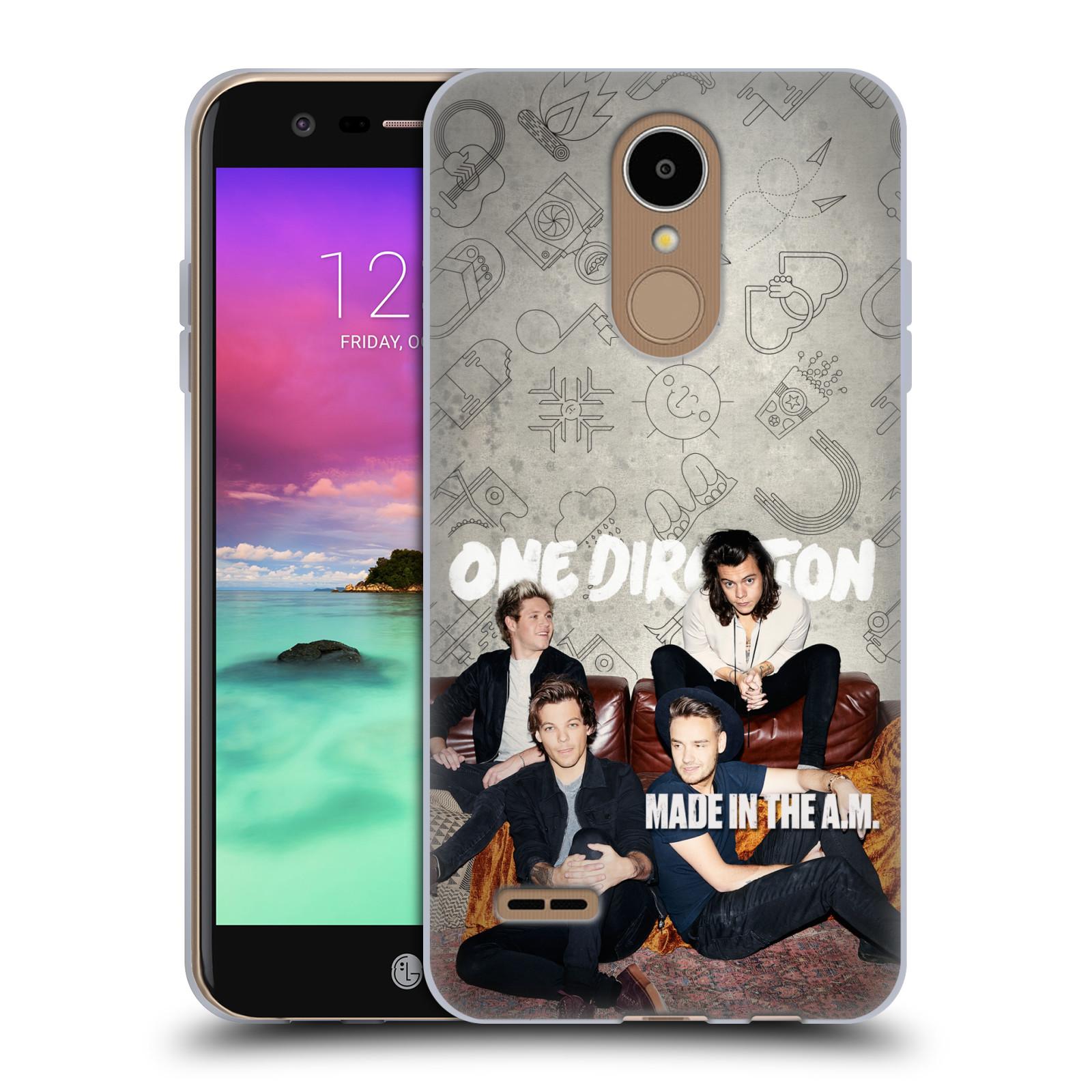 HEAD CASE silikonový obal na mobil LG K8 2017 / M200E, M200N chlapecká skupina One Direction gauč
