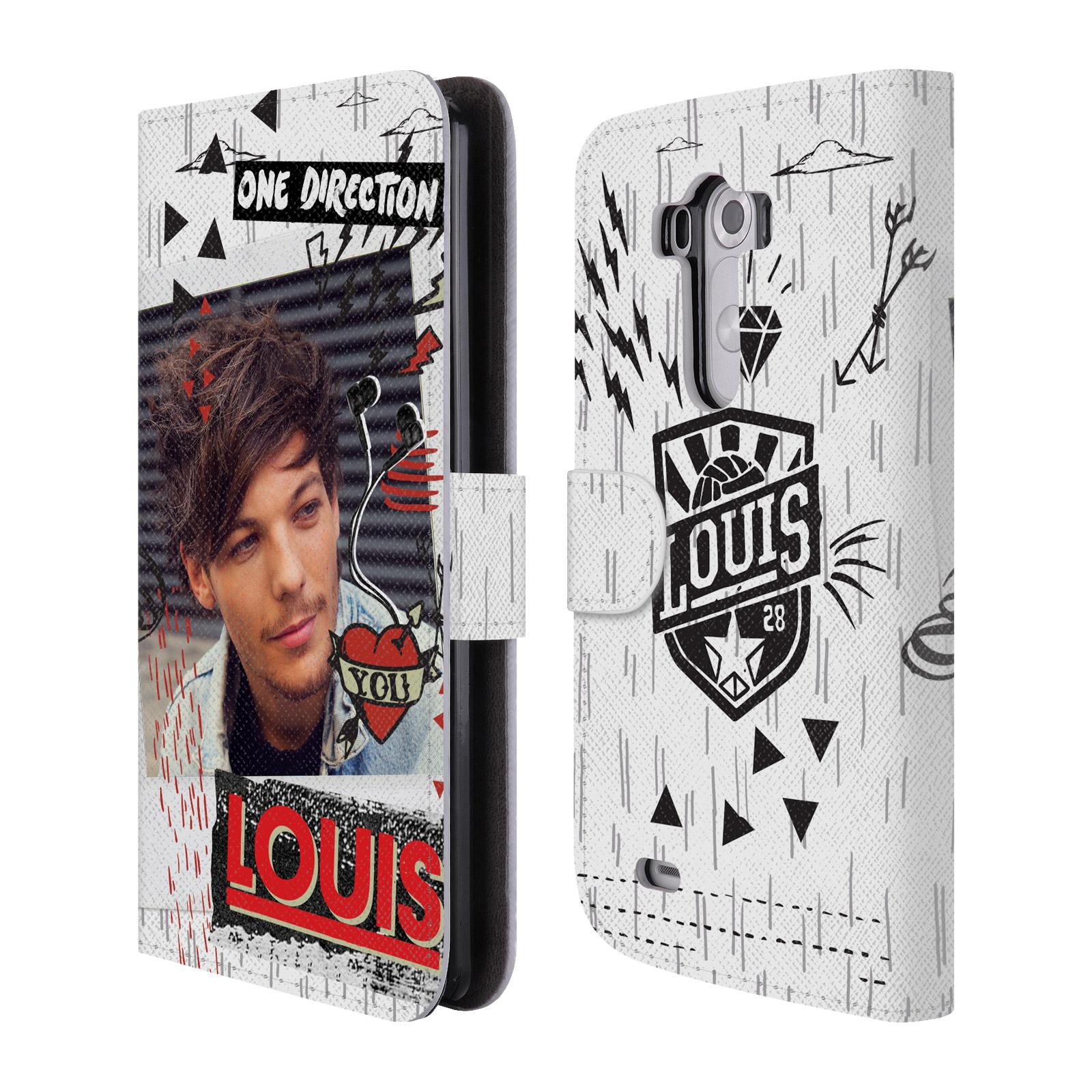 Officiel-One-Direction-1D-Midnight-Louis-cuir-Livre-etui-Pour-Telephones-LG-1