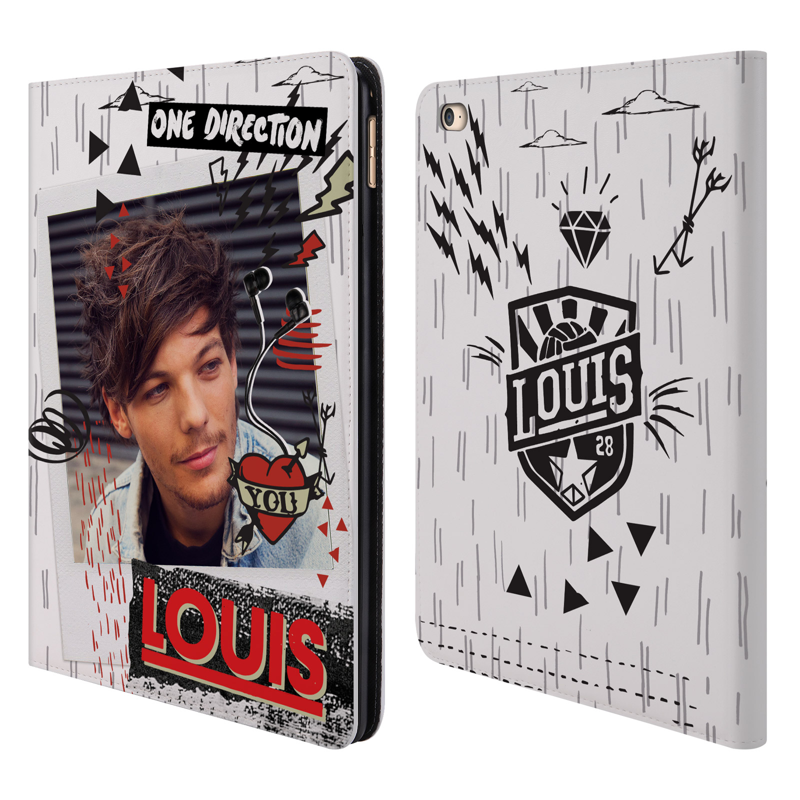 OFFICIAL-ONE-DIRECTION-1D-MIDNIGHT-LOUIS-LEATHER-BOOK-WALLET-CASE-FOR-APPLE-iPAD
