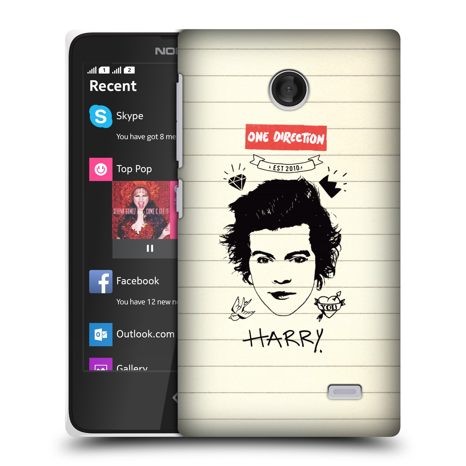 OFFICIAL-ONE-DIRECTION-1D-NOTEBOOK-DOODLES-HARD-BACK-CASE-FOR-NOKIA-X