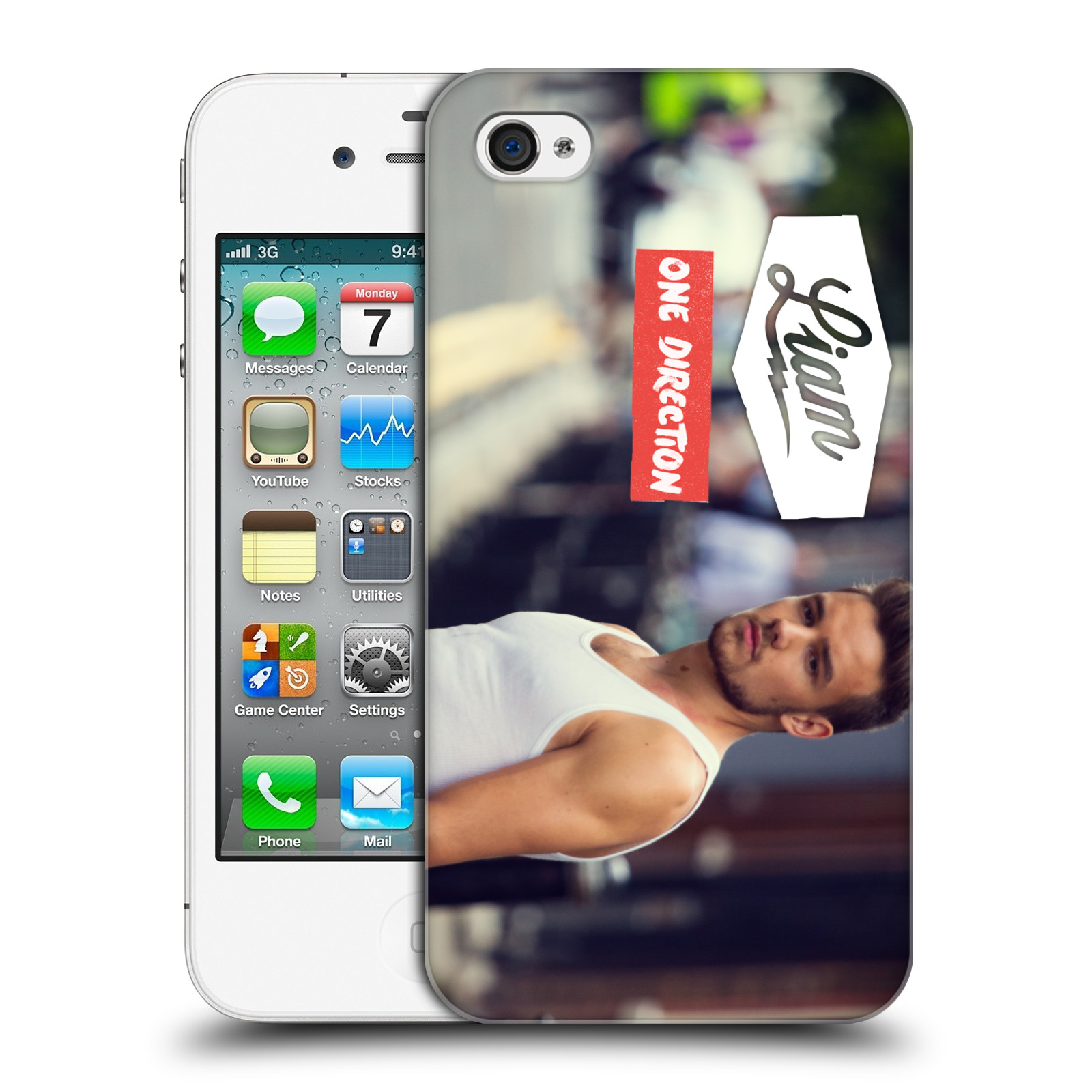 Ufficiale-One-Direction-1D-Liam-Payne-FOTO-HARD-BACK-CASE-per-APPLE-IPHONE-4S