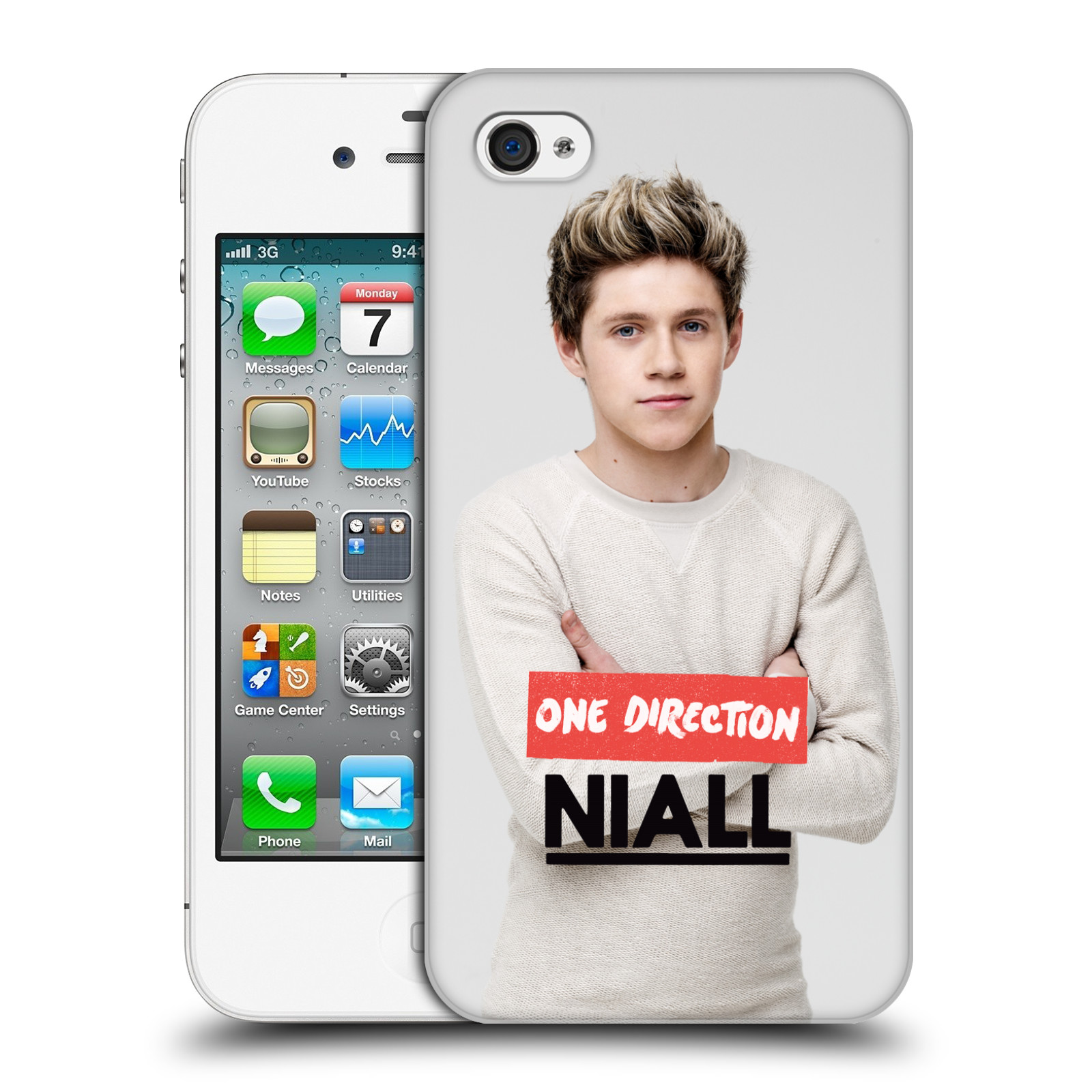 OFFICIAL-ONE-DIRECTION-1D-NIALL-HORAN-PHOTO-HARD-BACK-CASE-FOR-APPLE-iPHONE-4S