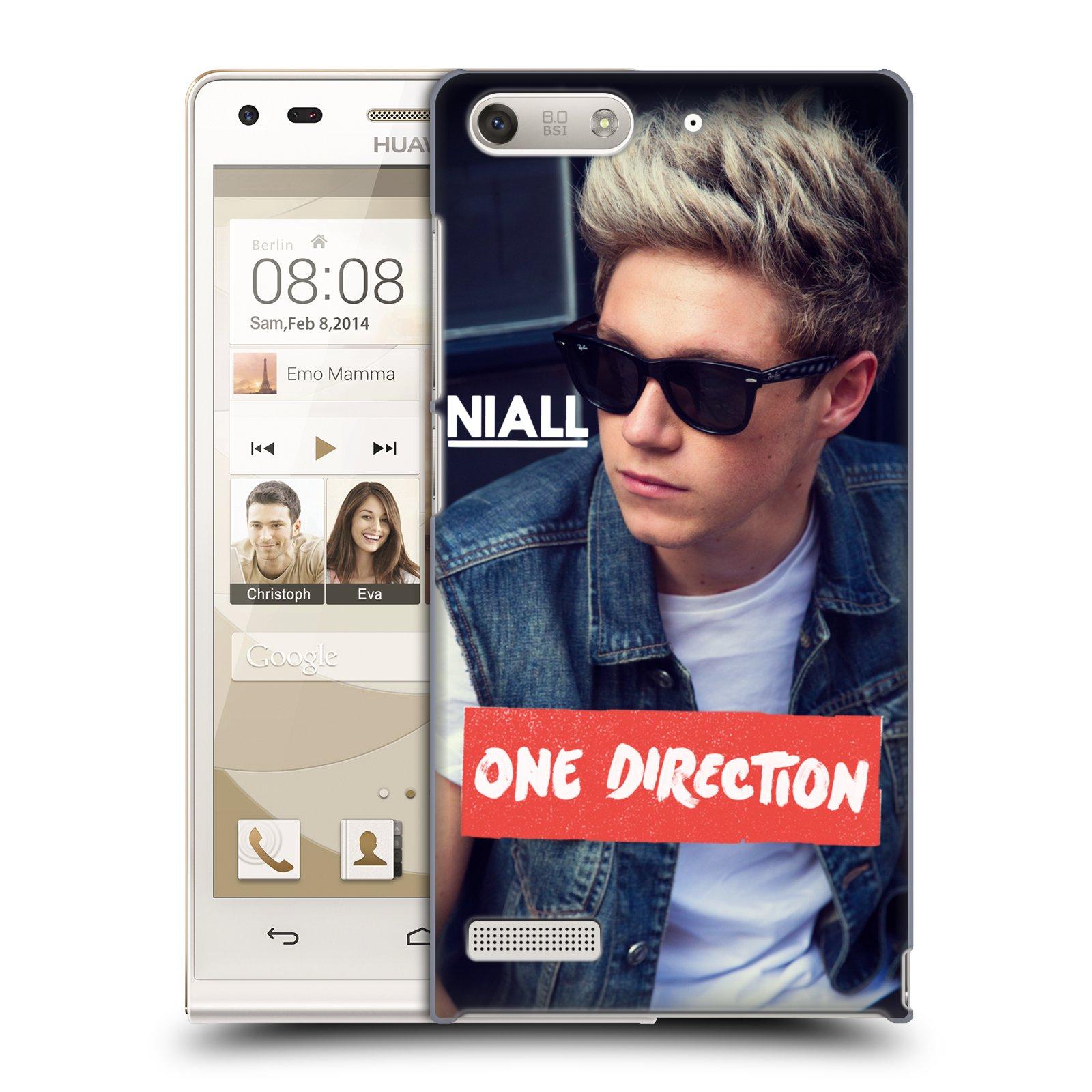 Plastové pouzdro na mobil Huawei Ascend G6 HEAD CASE One Direction - Niall (Kryt či obal One Direction Official na mobilní telefon Huawei Ascend G6 bez LTE)