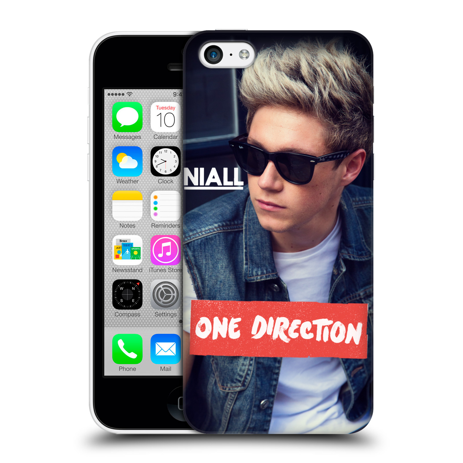 official one direction 1d niall horan photo hard back case
