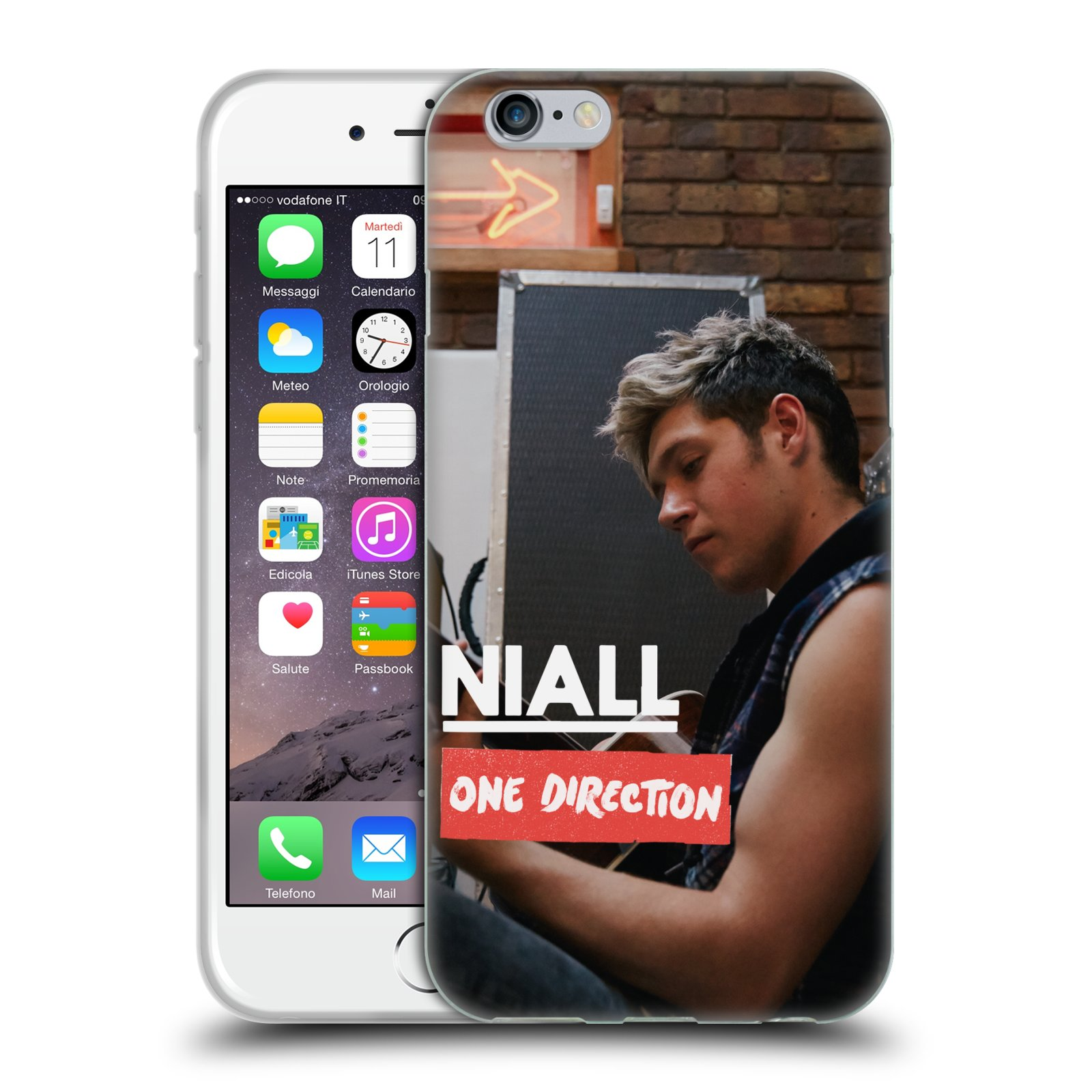 official one direction 1d niall horan photo soft gel case