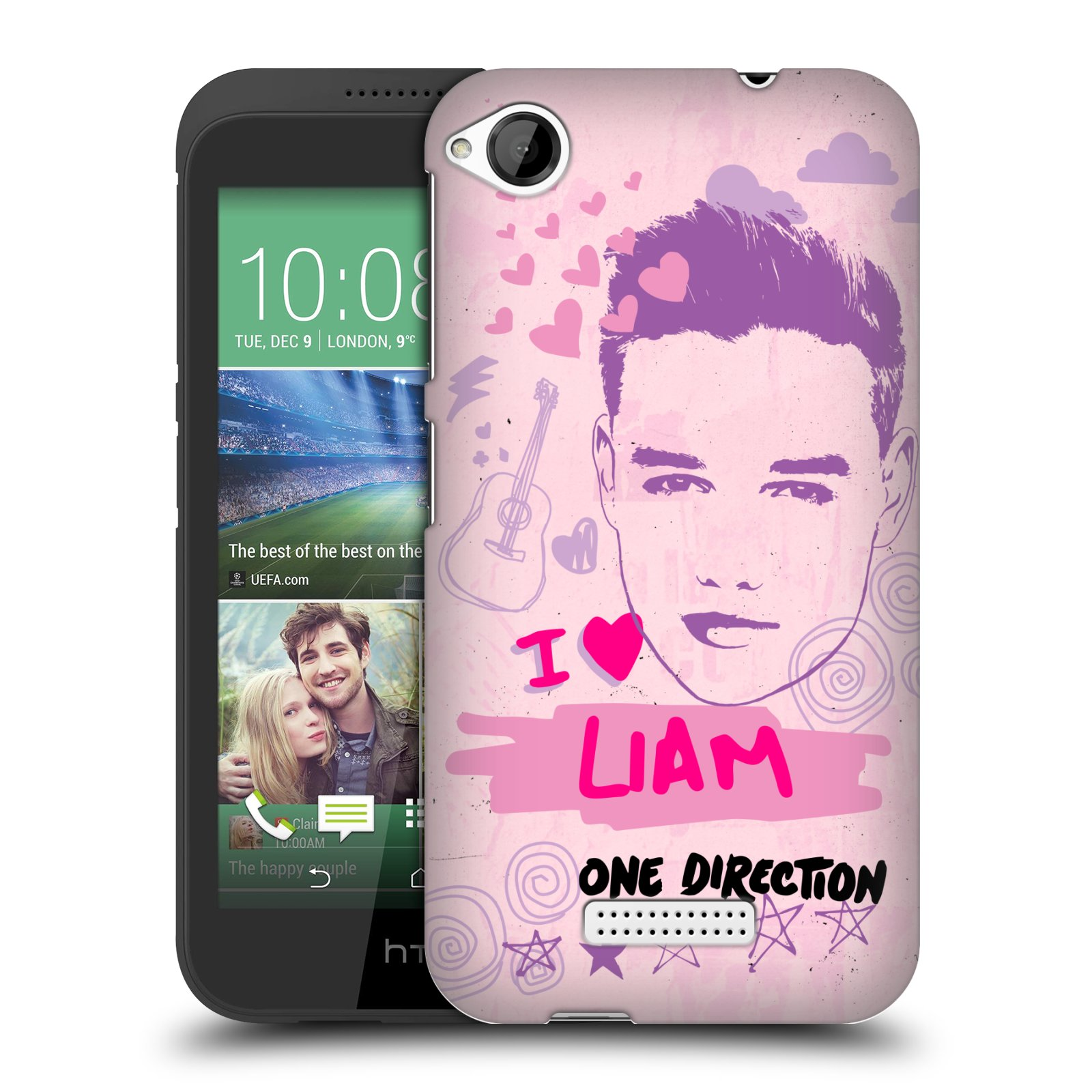 OFFICIAL-ONE-DIRECTION-1D-PINK-GRAPHIC-FACES-HARD-BACK-CASE-FOR-HTC-DESIRE-320