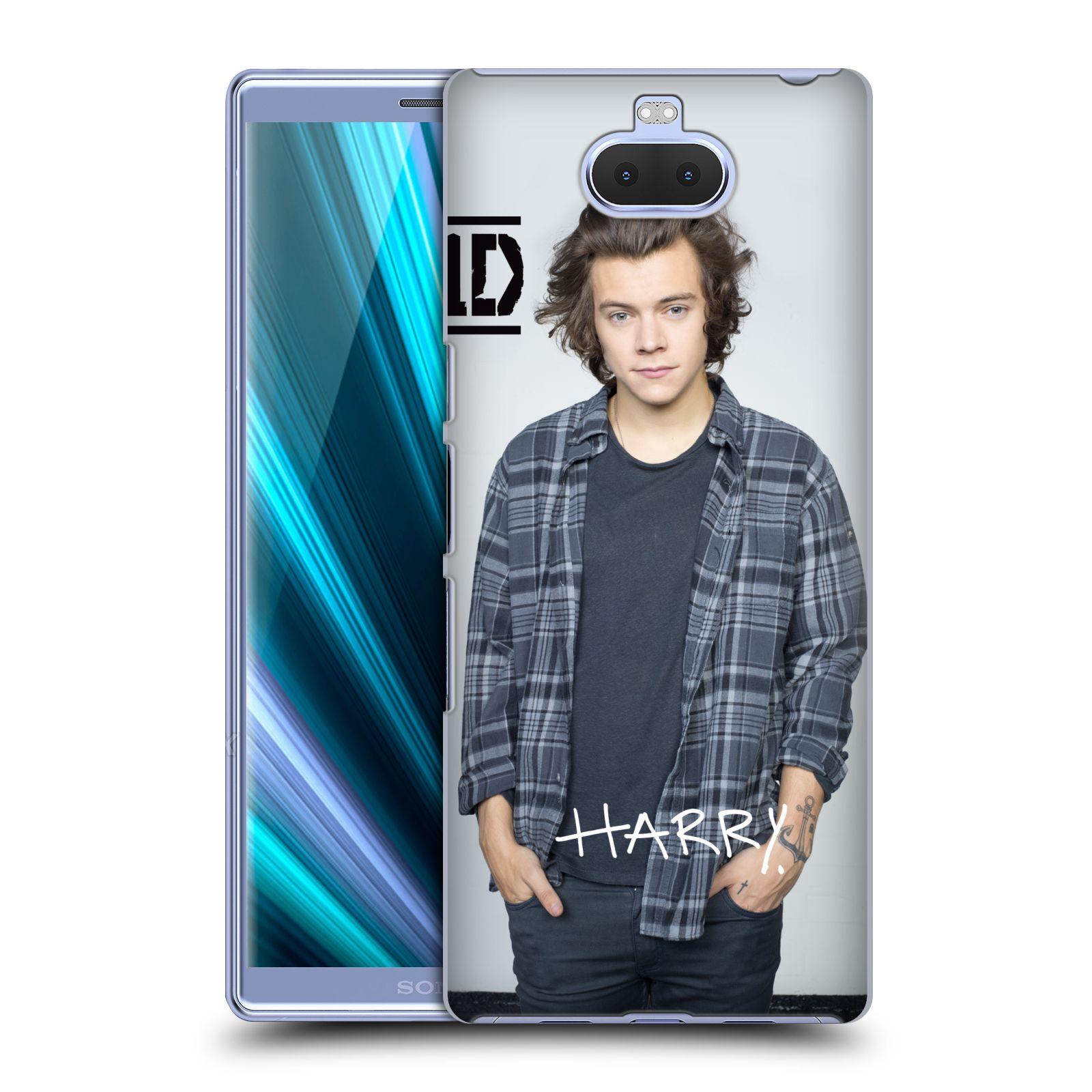 Pouzdro na mobil Sony Xperia 10 - Head Case - One Direction zpěvák Harry