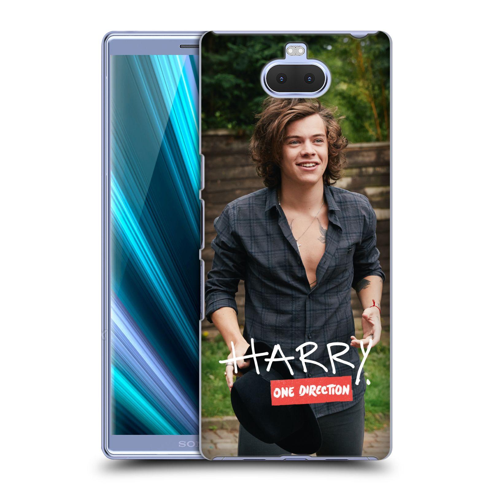 Pouzdro na mobil Sony Xperia 10 - Head Case - One Direction zpěvák Harry vlasy