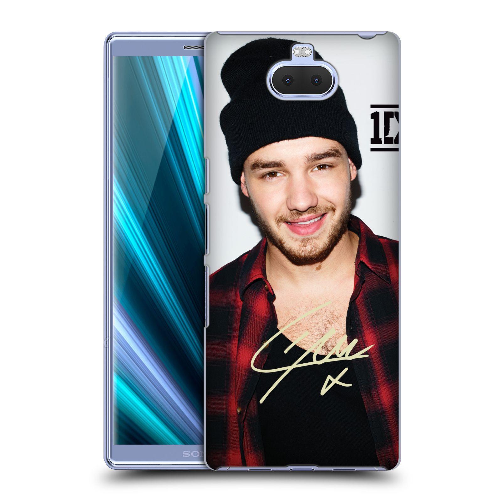 Pouzdro na mobil Sony Xperia 10 - Head Case - One Direction zpěvák Liam čepka