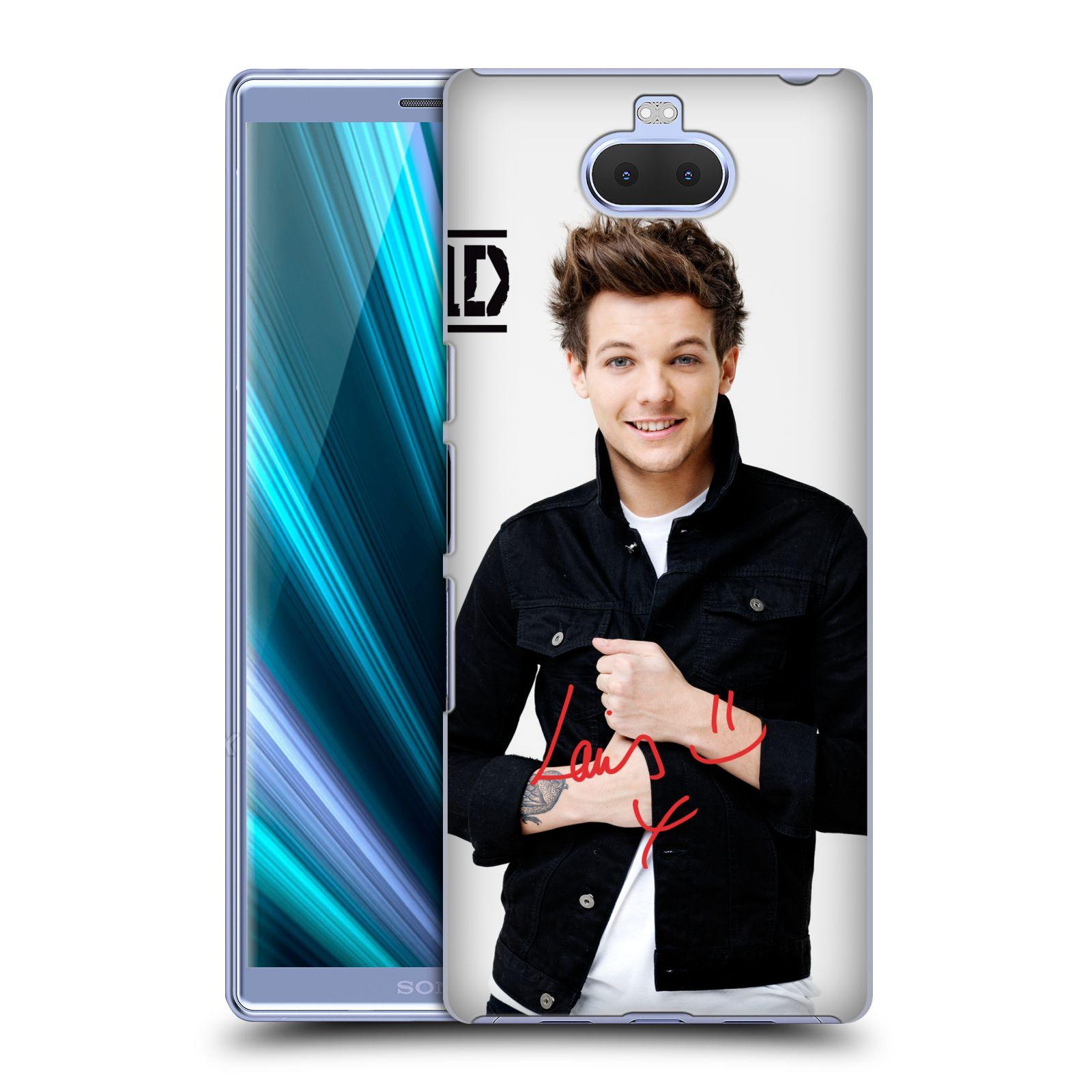 Pouzdro na mobil Sony Xperia 10 - Head Case - One Direction zpěvák Louis bunda