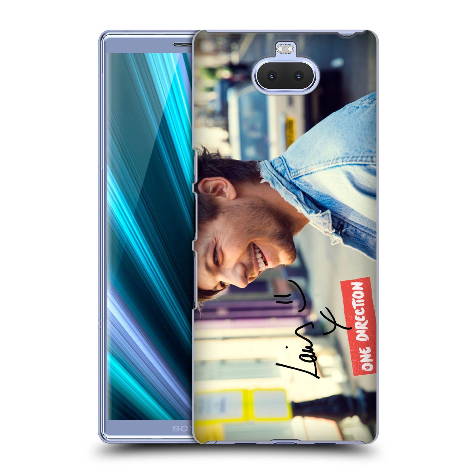 Pouzdro na mobil Sony Xperia 10 - Head Case - One Direction zpěvák Louis úsměv