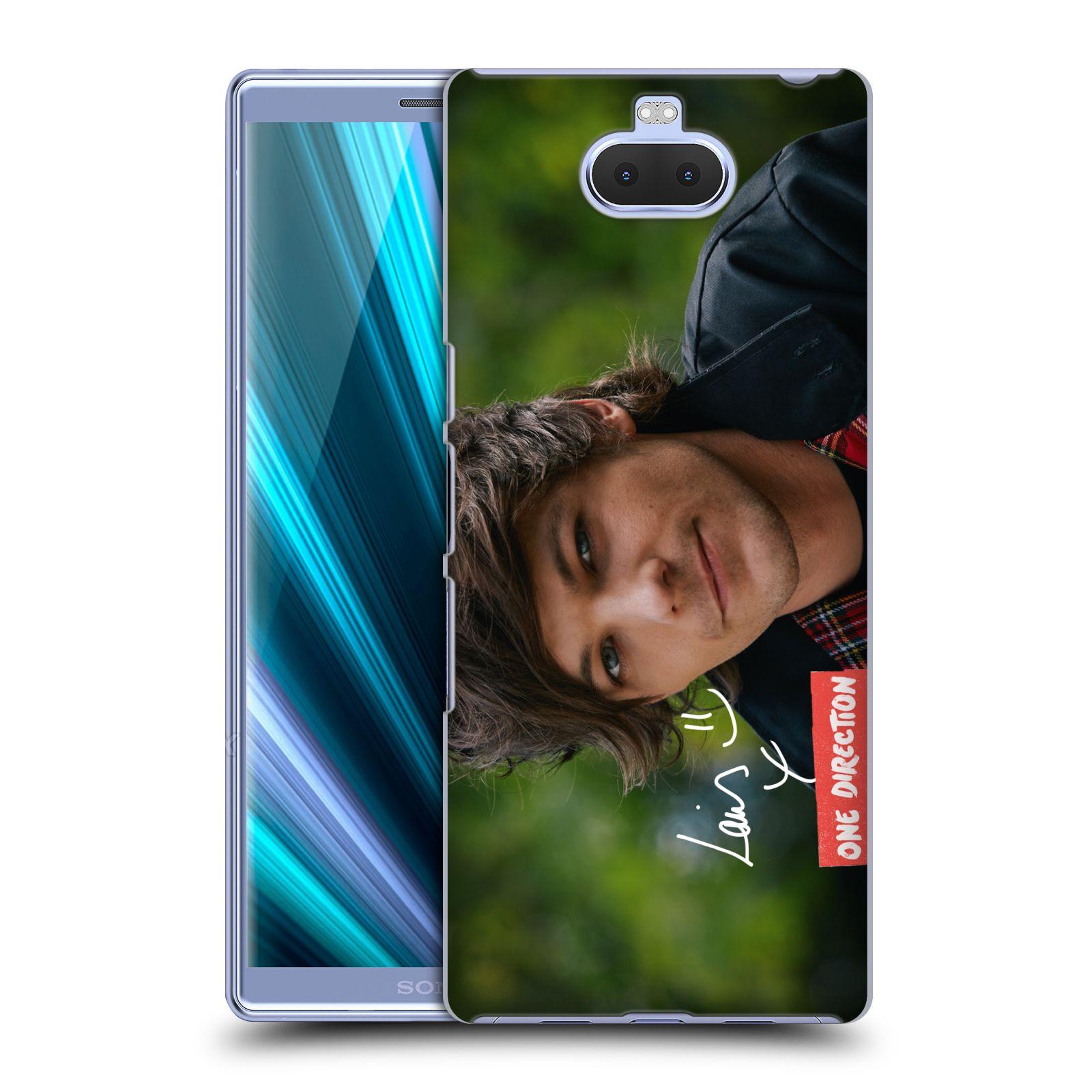 Pouzdro na mobil Sony Xperia 10 - Head Case - One Direction zpěvák Louis úsměv foto