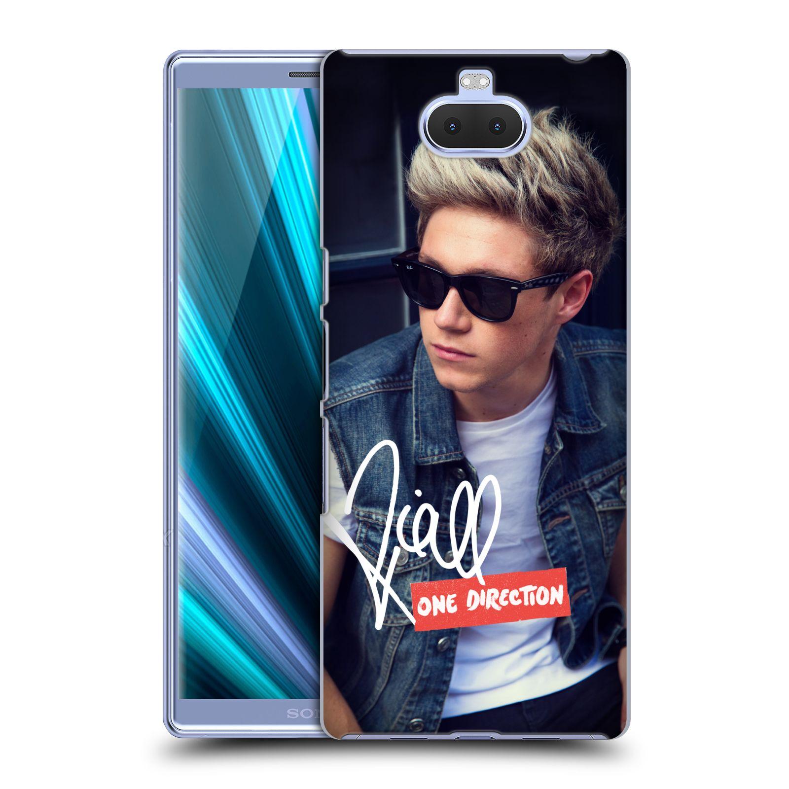 Pouzdro na mobil Sony Xperia 10 - Head Case - One Direction zpěvák Niall s brýlema