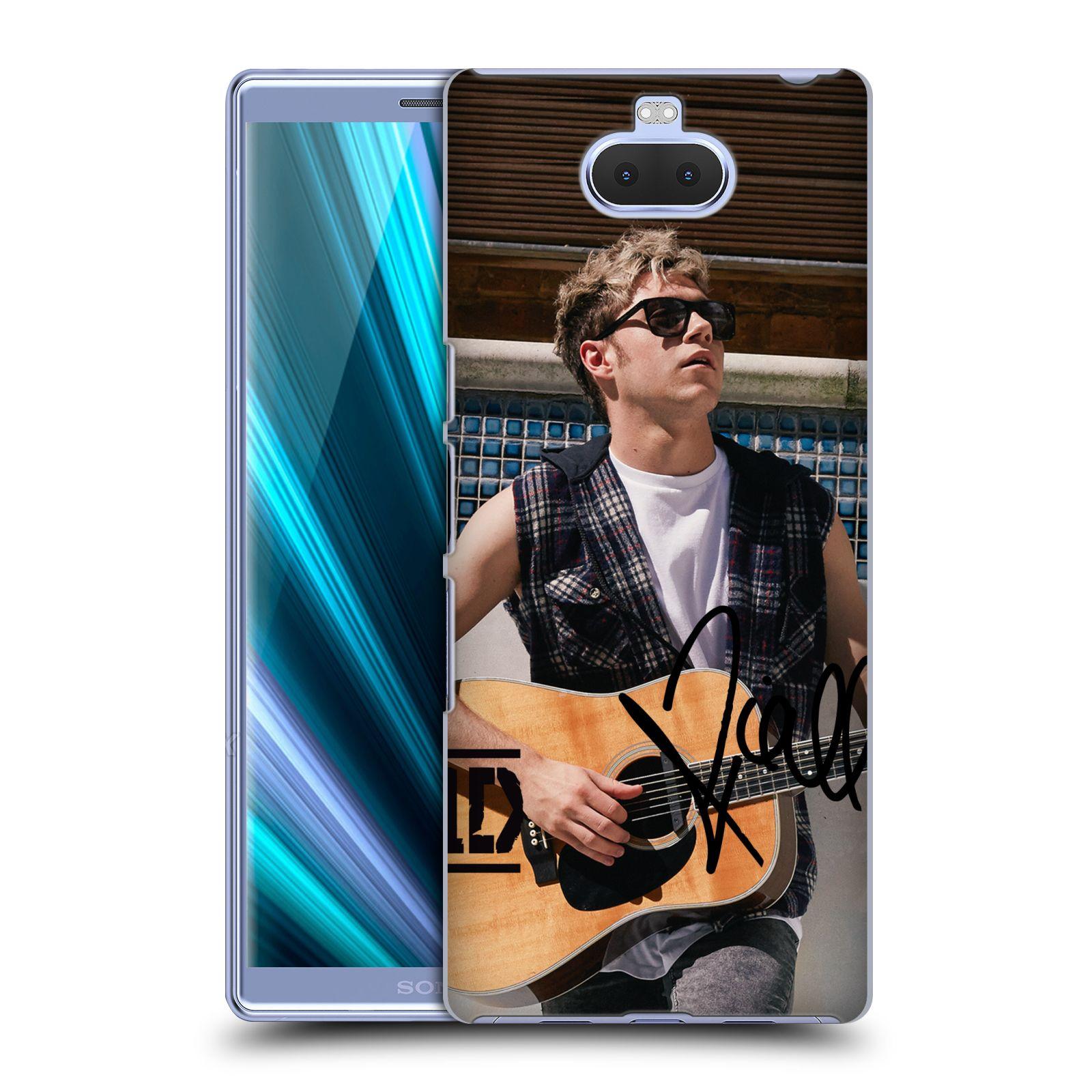 Pouzdro na mobil Sony Xperia 10 - Head Case - One Direction zpěvák Niall s kytarou