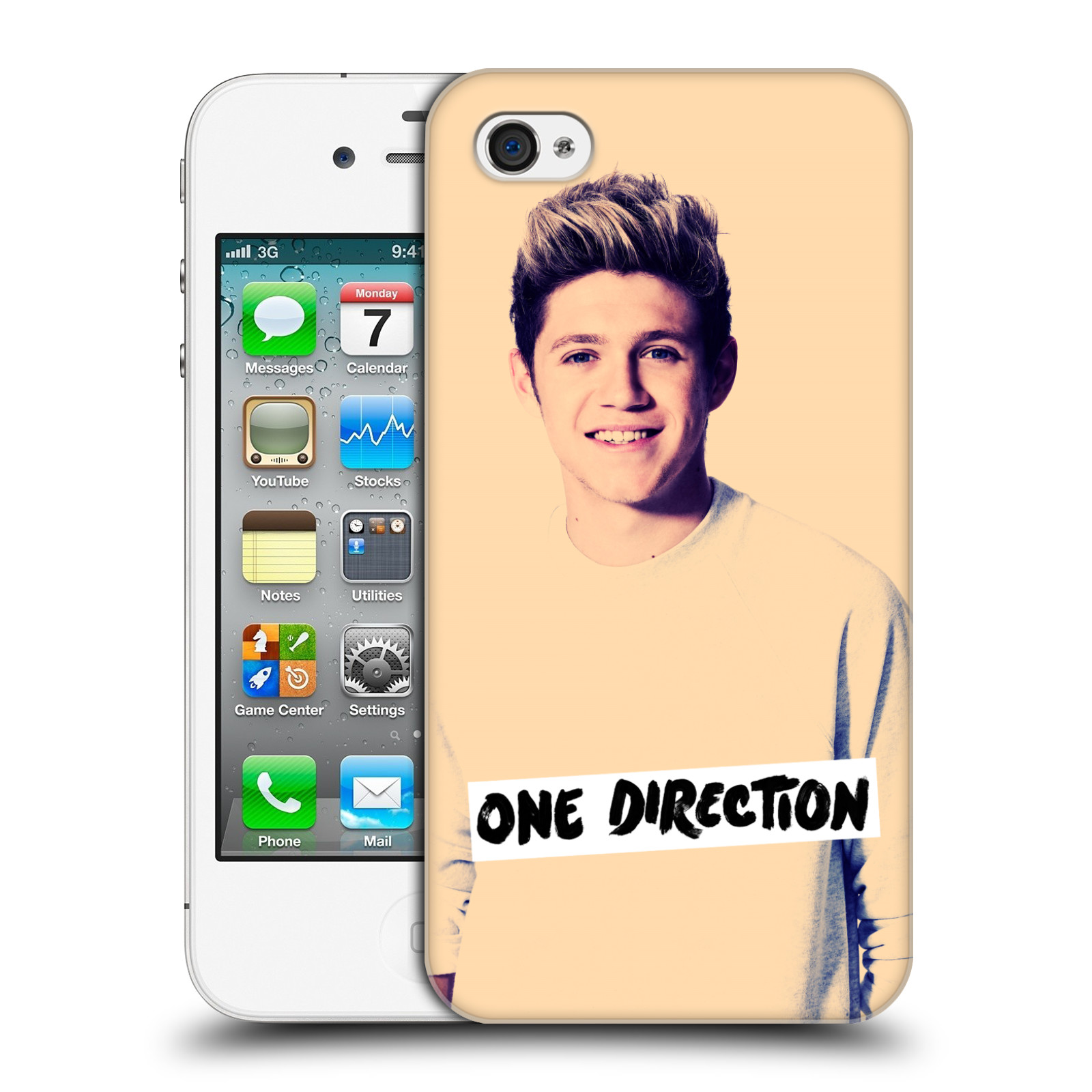 Ufficiale-One-Direction-1D-Niall-FOTO-FILTRO-HARD-BACK-CASE-per-APPLE-IPHONE-4S