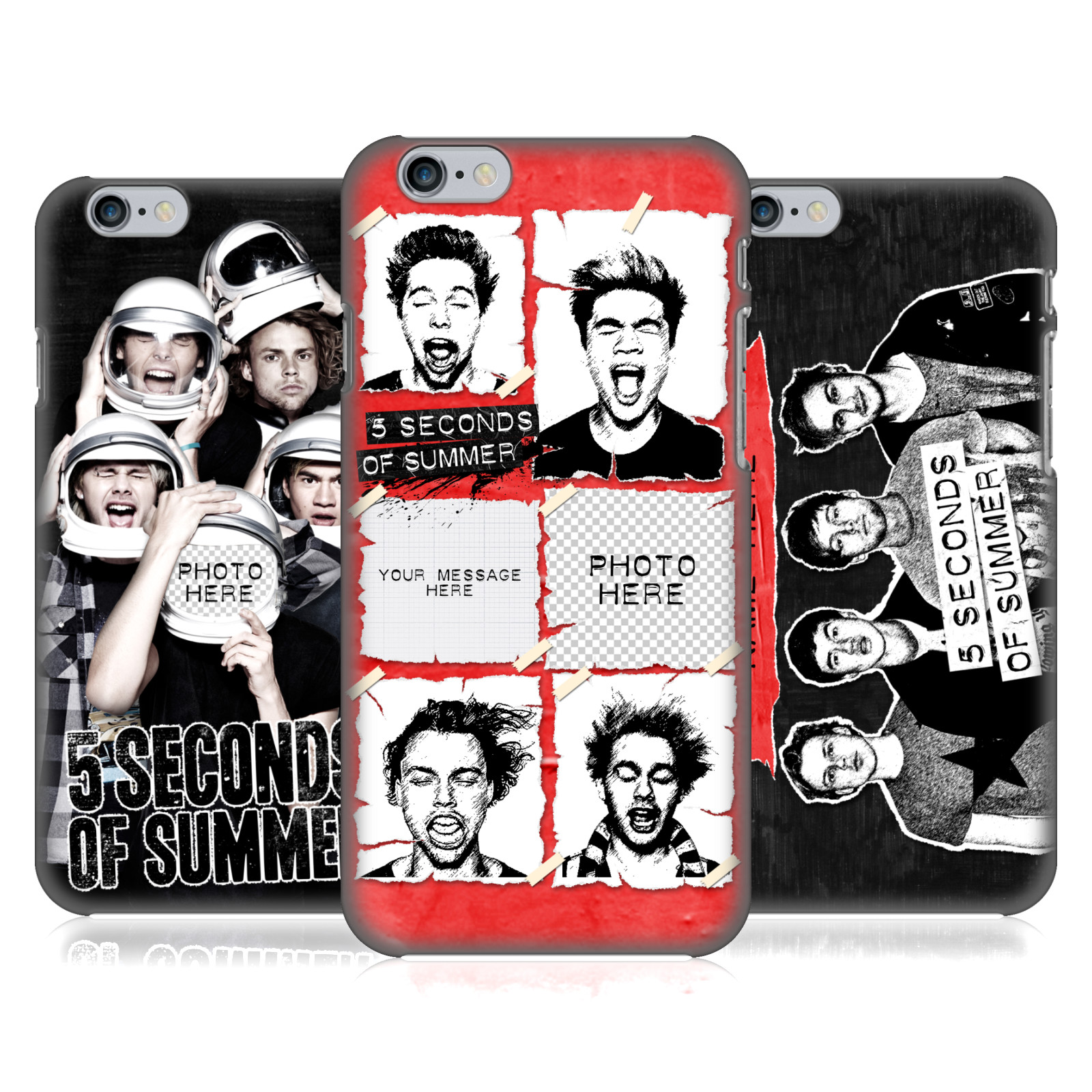 5 Seconds of Summer 5SOS Personalised Group