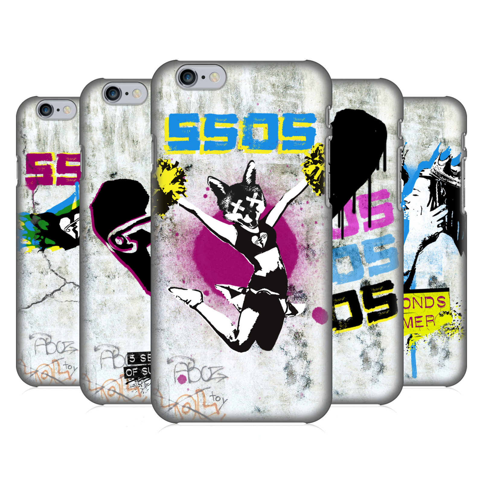 5 Seconds of Summer 5SOS Graffiti