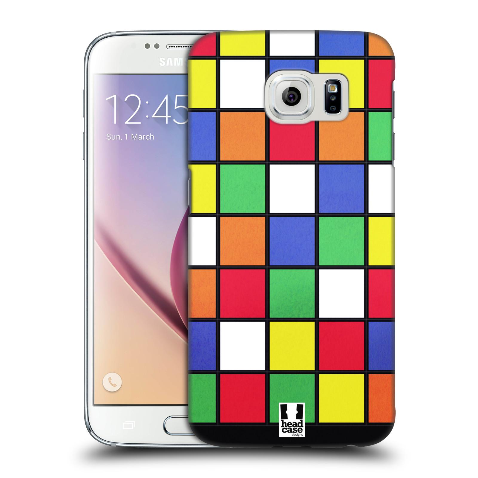 HEAD CASE plastový obal na mobil SAMSUNG Galaxy S6 (G9200, G920F) vzor 80. léta DISKO