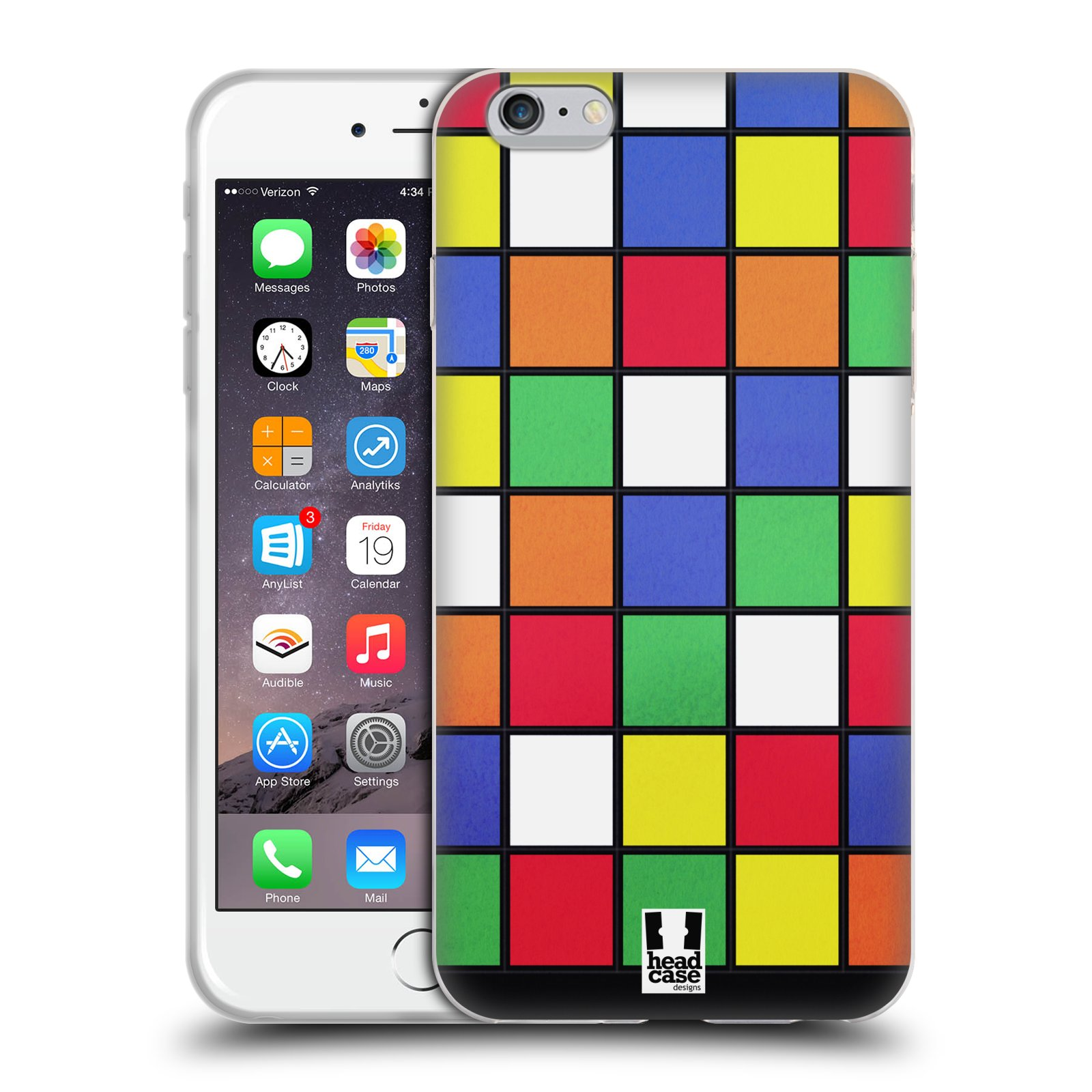 HEAD CASE silikonový obal na mobil Apple Iphone 6 PLUS/ 6S PLUS vzor 80. léta DISKO