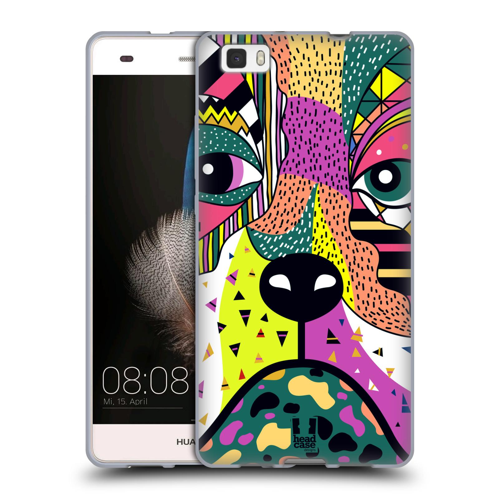 HEAD CASE silikonový obal na mobil Huawei Ascend P8 LITE Abstraktní zvířátka PES