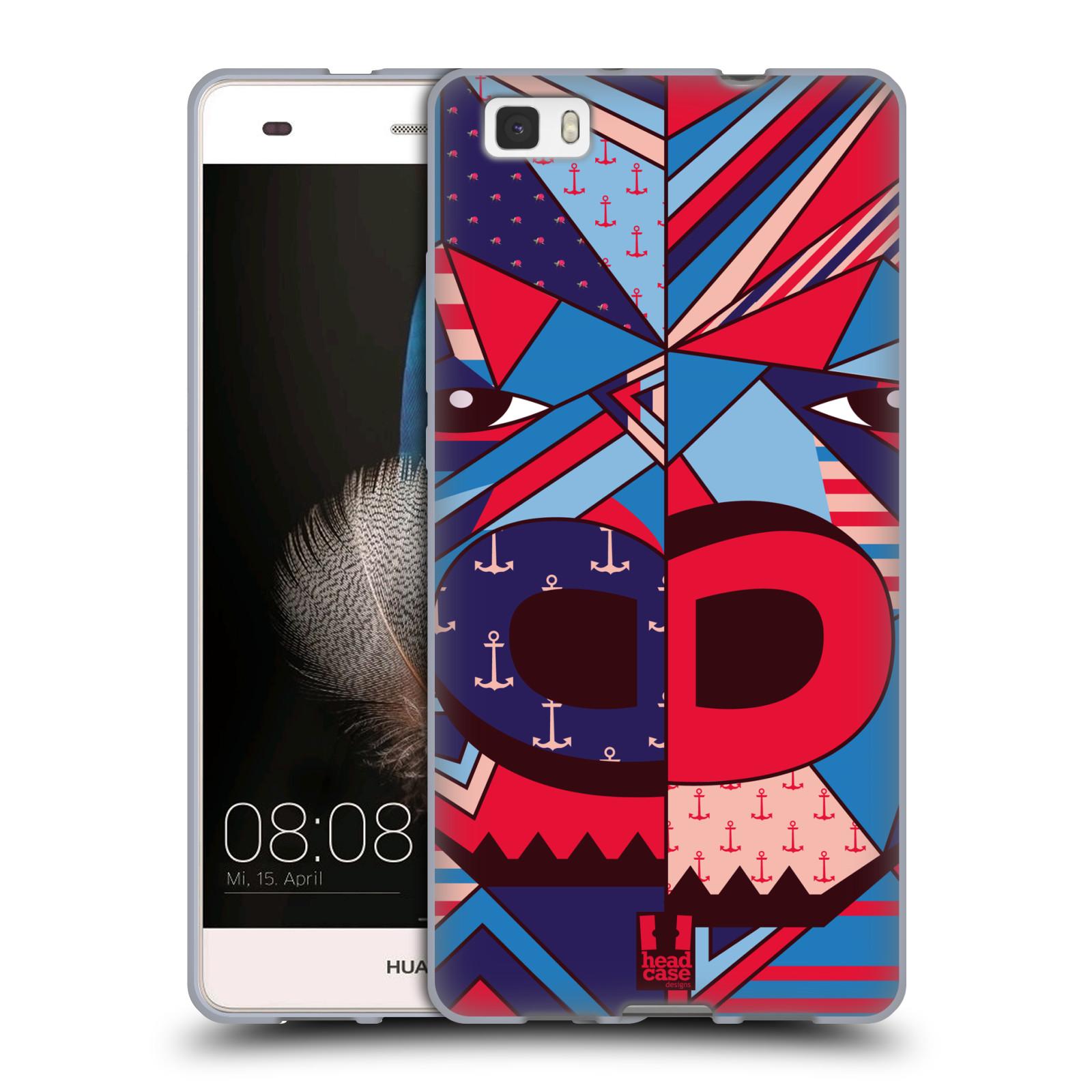 HEAD CASE silikonový obal na mobil Huawei Ascend P8 LITE Abstraktní zvířátka GORILA