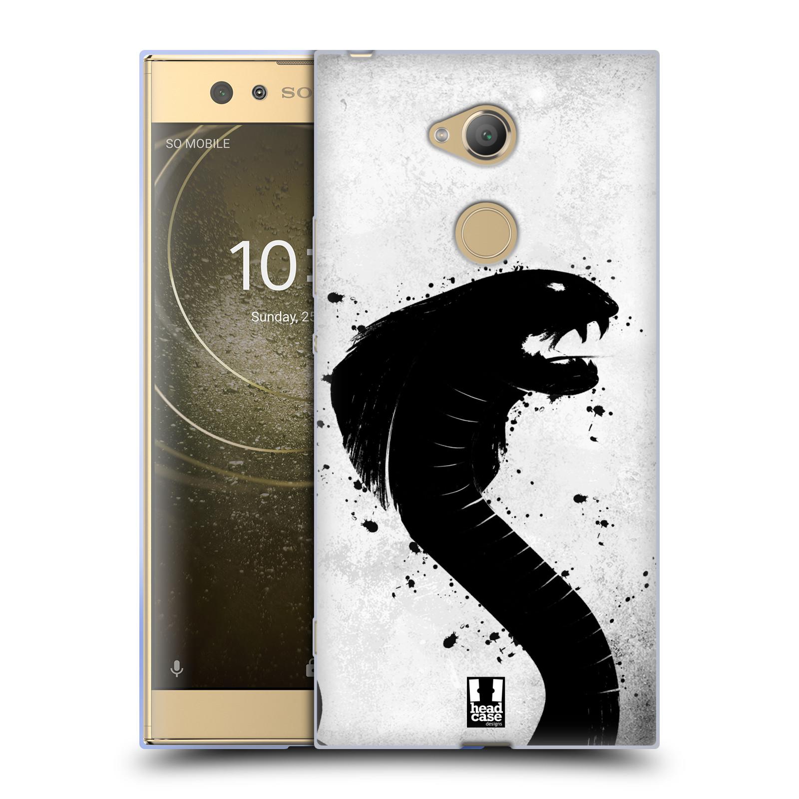 Pouzdro na mobil Sony Xperia XA2 Ultra vzor Kresba tuš zvíře had kobra