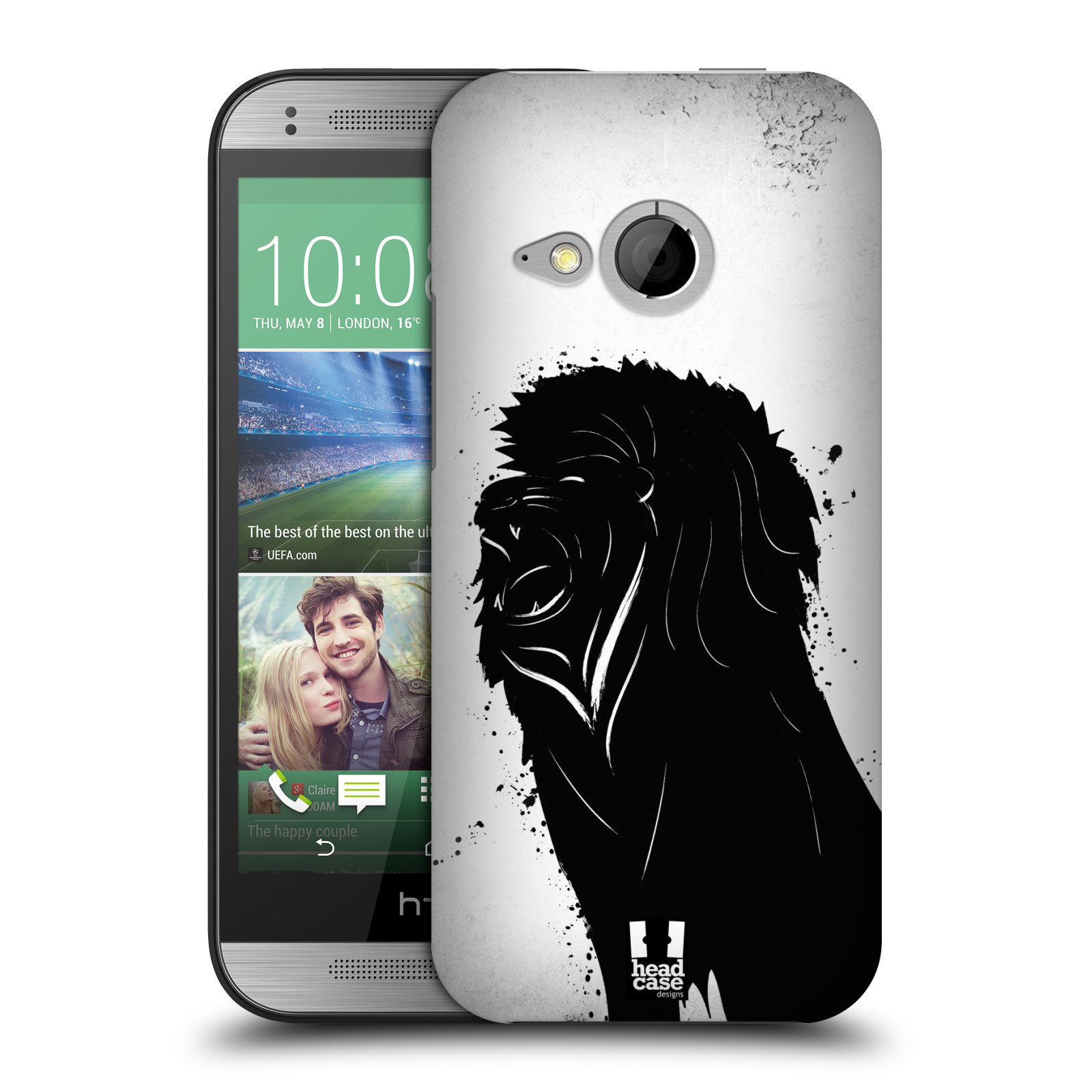 HEAD CASE DESIGNS ANIMAL INK BLOTS HARD BACK CASE FOR HTC ONE MINI 2