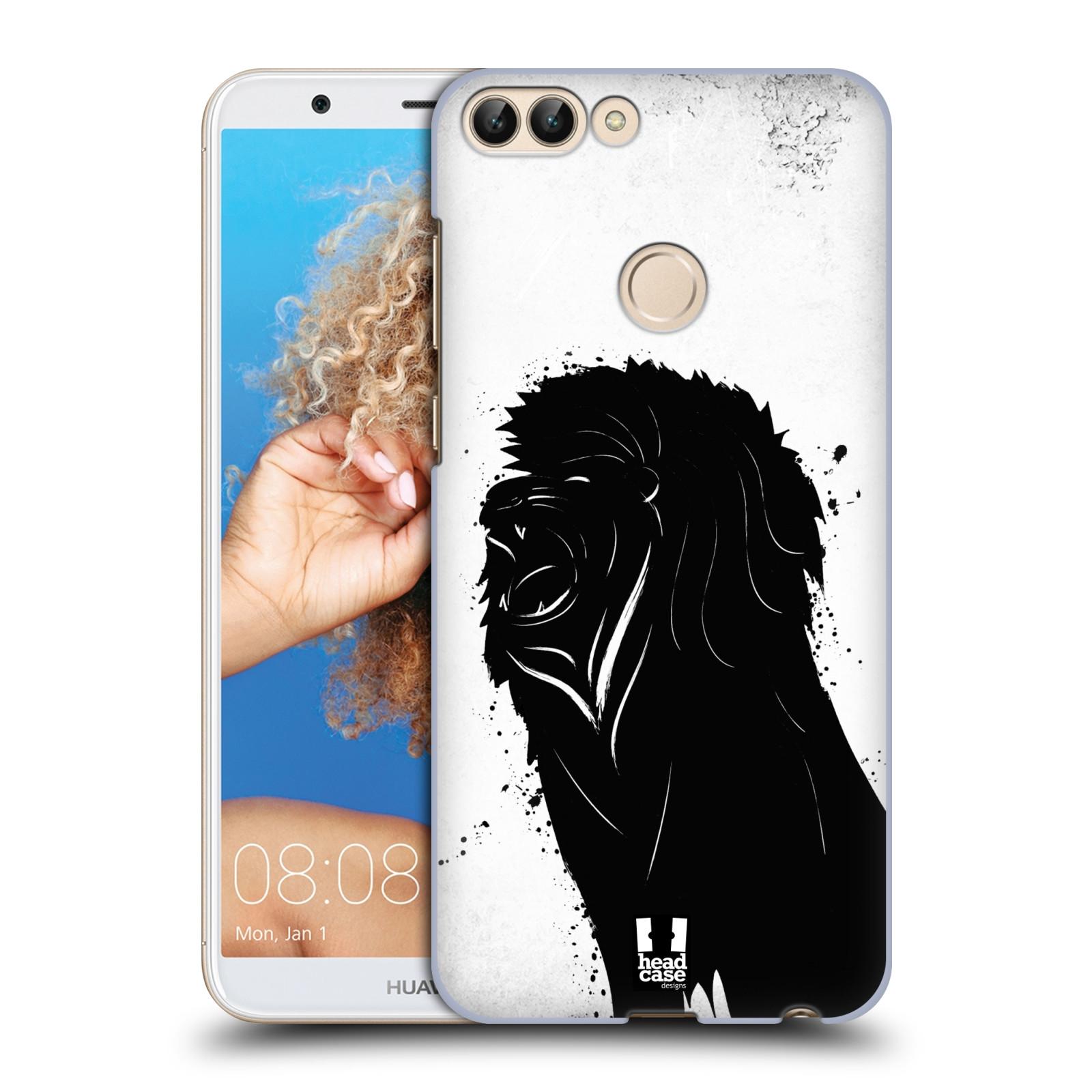 HEAD CASE plastový obal na mobil Huawei P Smart vzor Kresba tuš zvíře lev