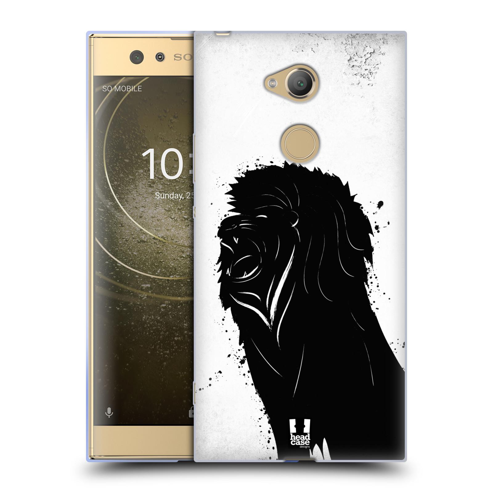 Pouzdro na mobil Sony Xperia XA2 Ultra vzor Kresba tuš zvíře lev
