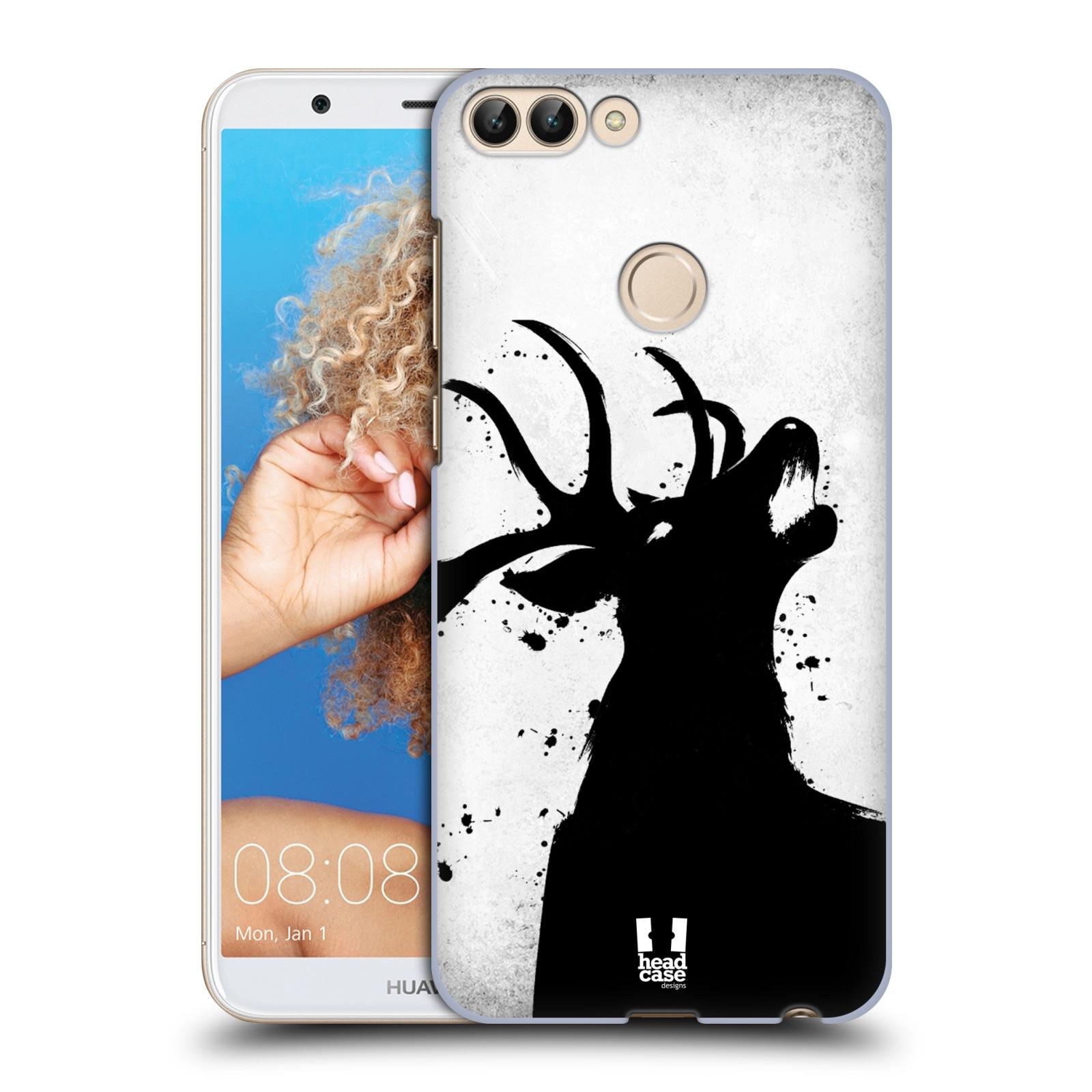 HEAD CASE plastový obal na mobil Huawei P Smart vzor Kresba tuš zvíře jelen