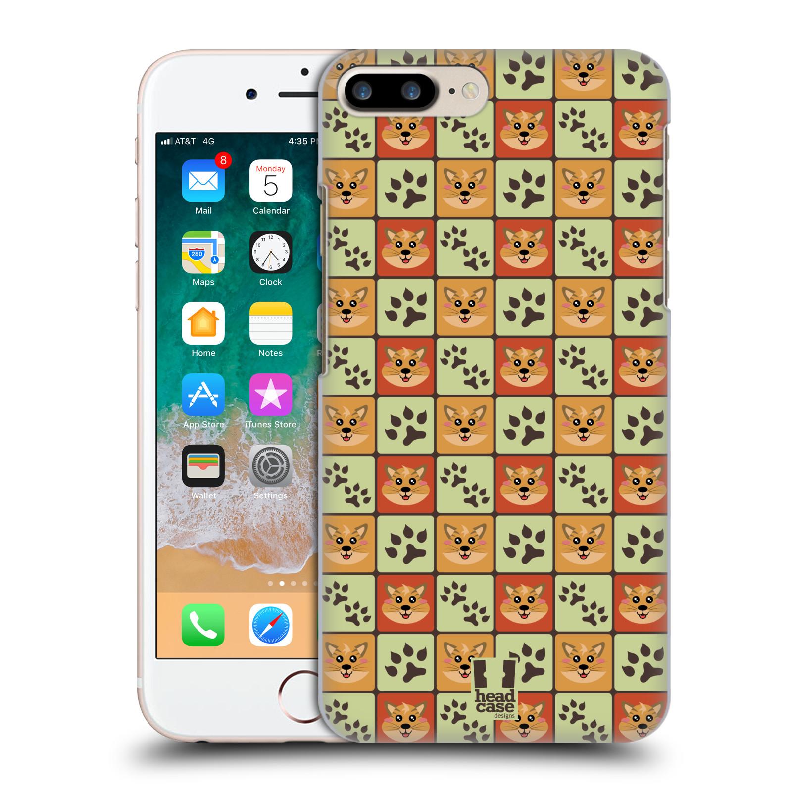 HEAD CASE plastový obal na mobil Apple Iphone 7 PLUS vzor Zvířecí razítka KOČIČKA