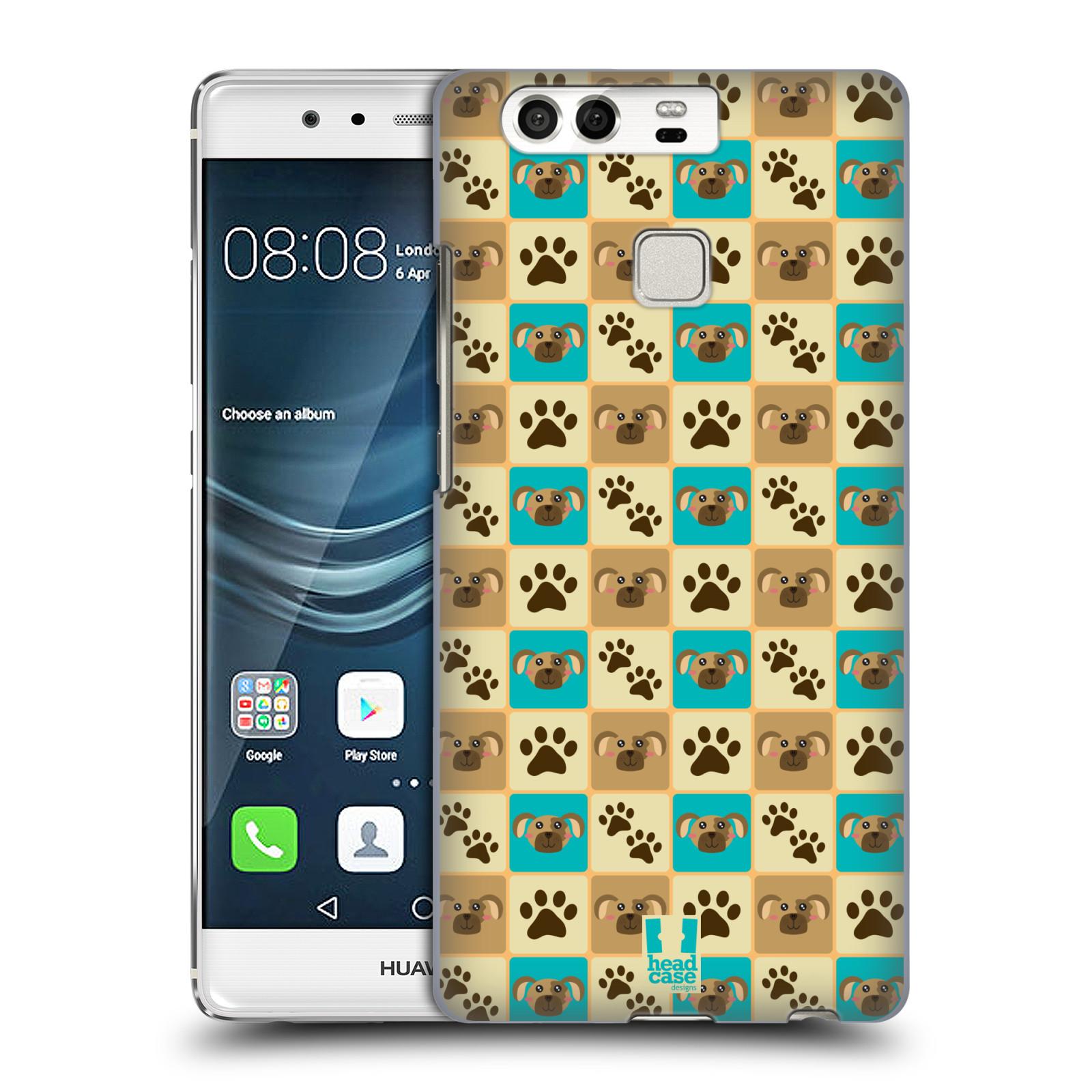 HEAD CASE plastový obal na mobil Huawei P9 / P9 DUAL SIM vzor Zvířecí razítka PSÍ TLAPKA