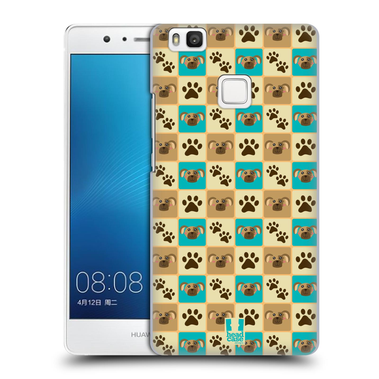 HEAD CASE plastový obal na mobil Huawei P9 LITE / P9 LITE DUAL SIM vzor Zvířecí razítka PSÍ TLAPKA