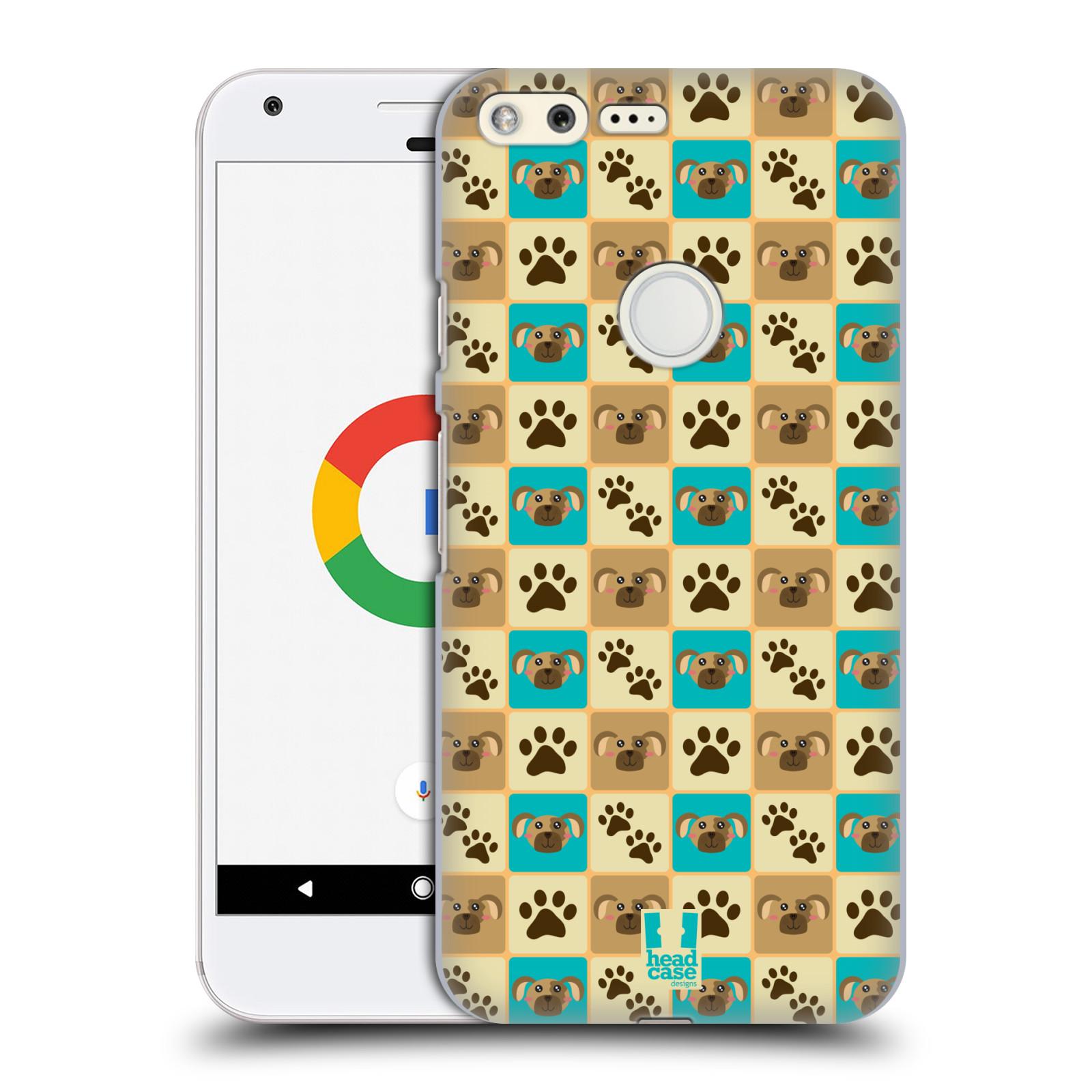 HEAD CASE plastový obal na mobil GOOGLE Pixel vzor Zvířecí razítka PSÍ TLAPKA