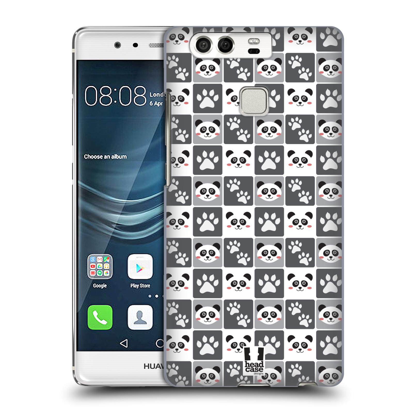 HEAD CASE plastový obal na mobil Huawei P9 / P9 DUAL SIM vzor Zvířecí razítka MEDVÍDEK PANDA