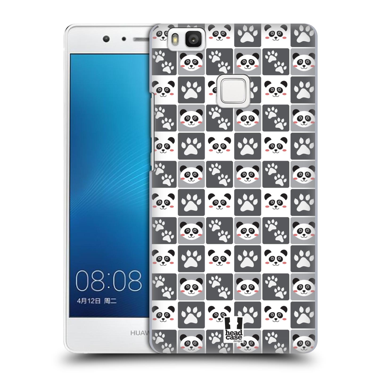 HEAD CASE plastový obal na mobil Huawei P9 LITE / P9 LITE DUAL SIM vzor Zvířecí razítka MEDVÍDEK PANDA