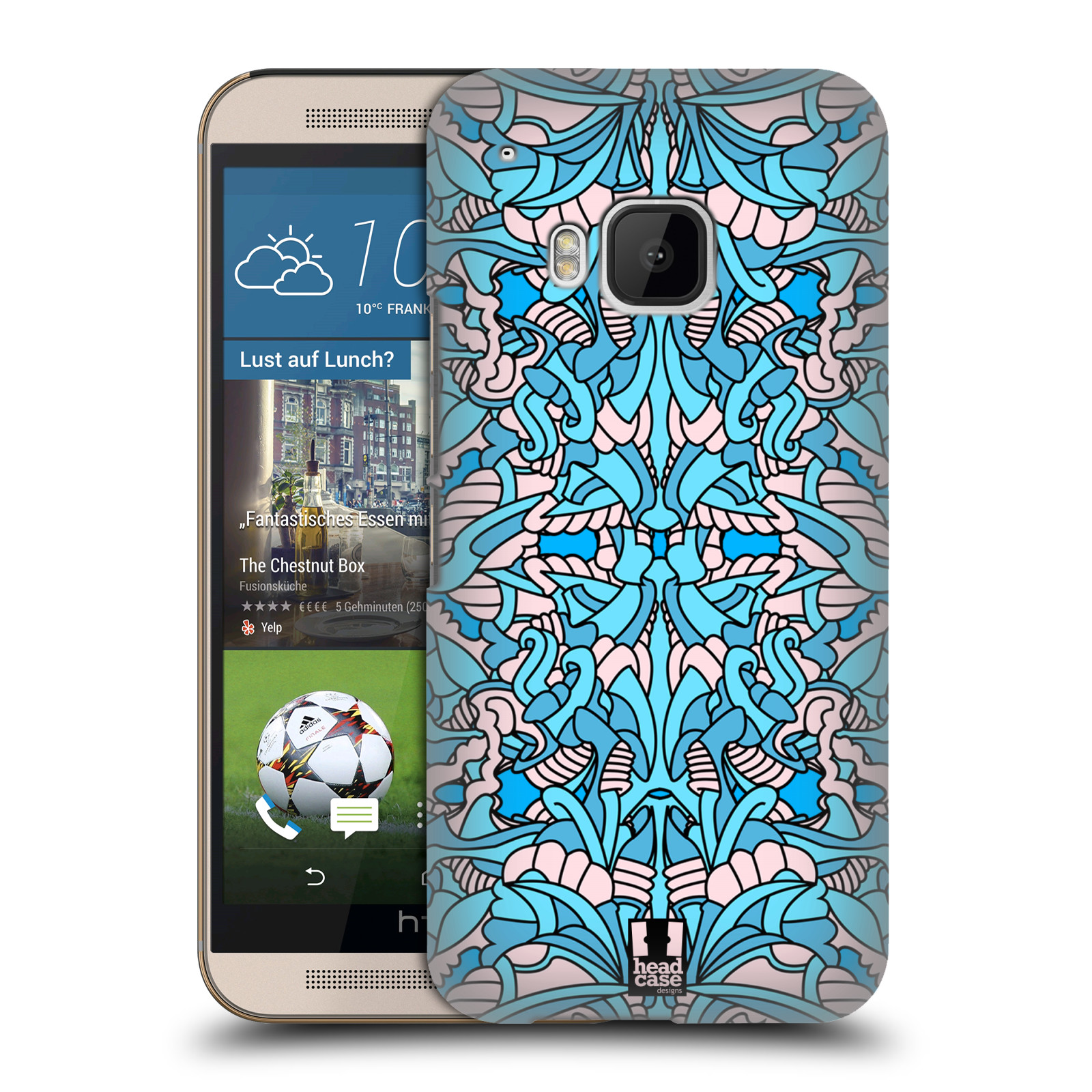 HEAD CASE ABSTRACT ALIEN PATTERNS BACK CASE FOR HTC ONE M9