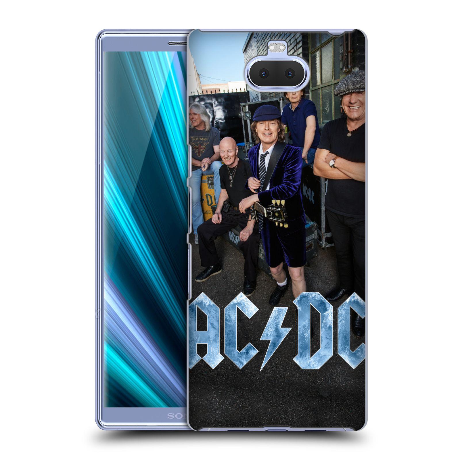 Pouzdro na mobil Sony Xperia 10 - Head Case - rocková skupina ACDC fotka garáž