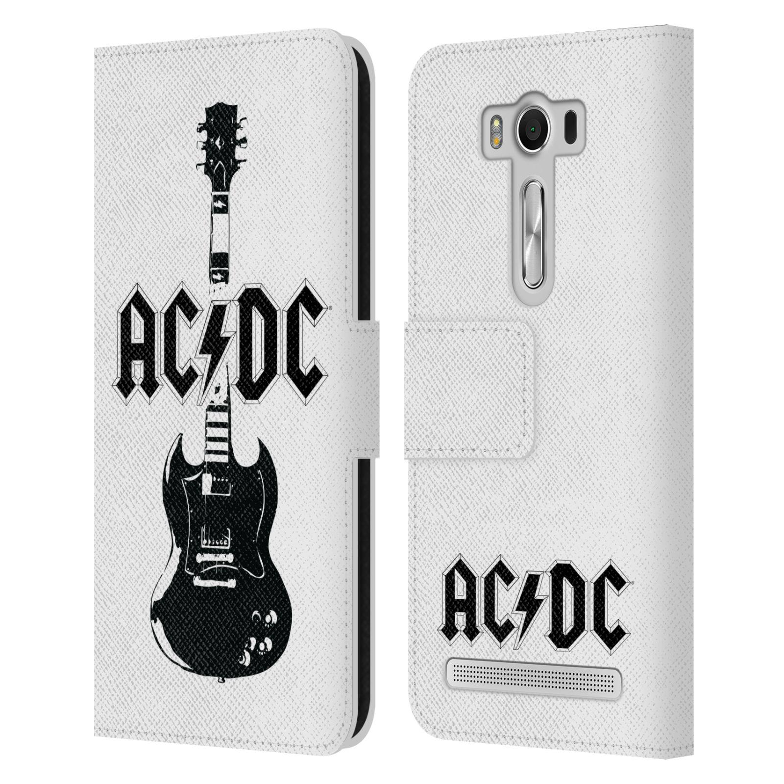 Pouzdro na mobil Asus Zenfone 2 Laser ZE500KL - Head Case - Rockova skupina ACDC kytara