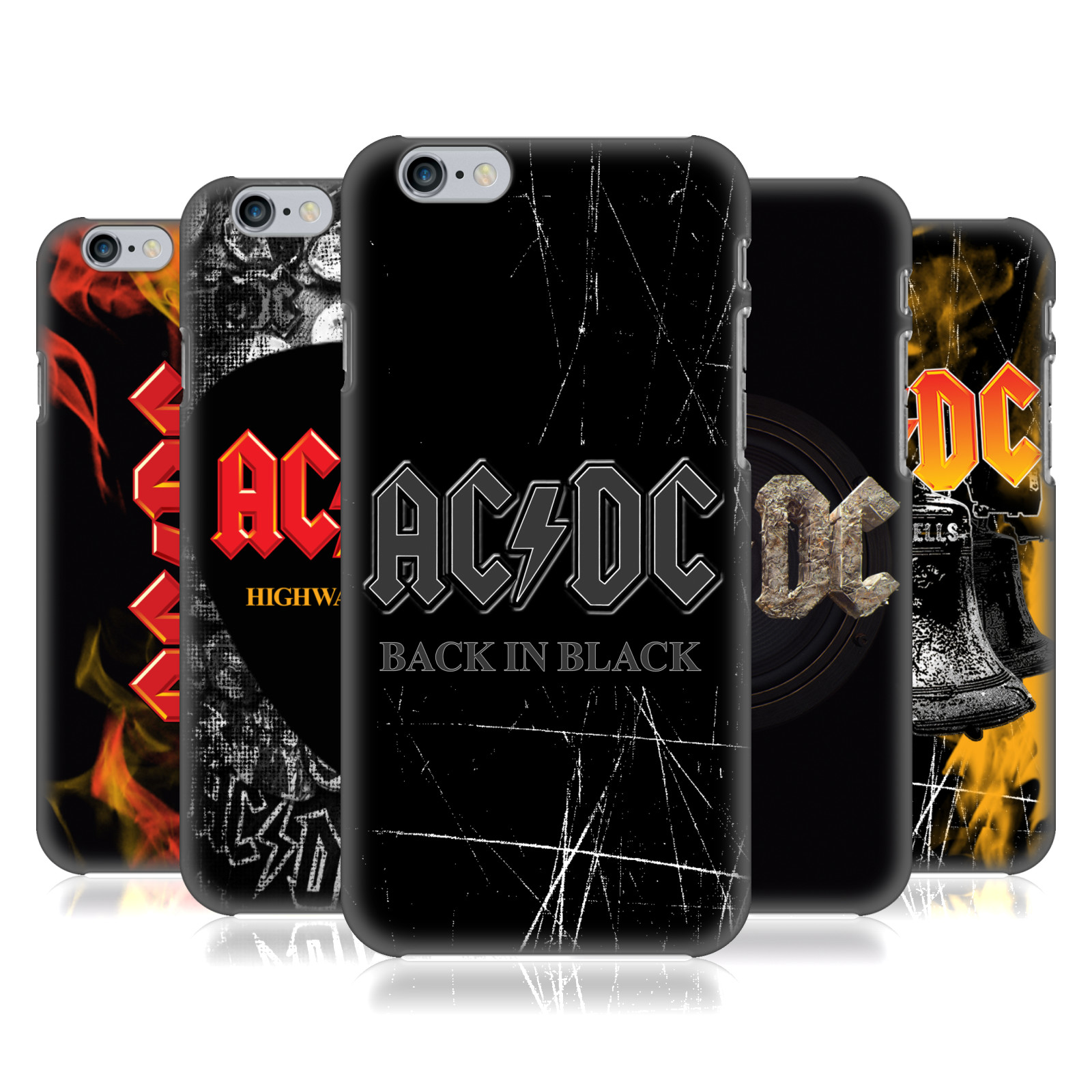 AC/DC Phone and Tablet cases